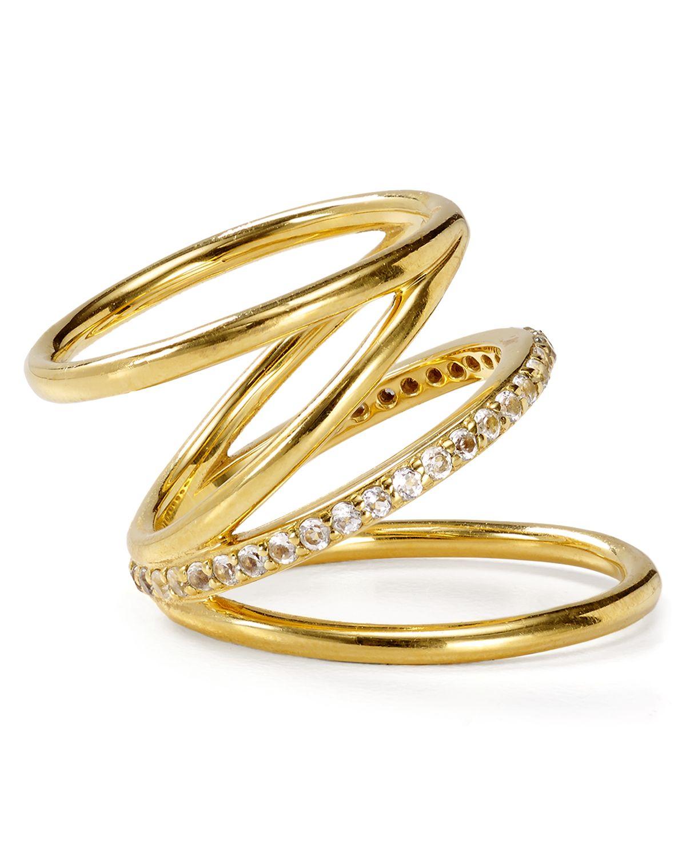 Elizabeth And James Topaz Ring