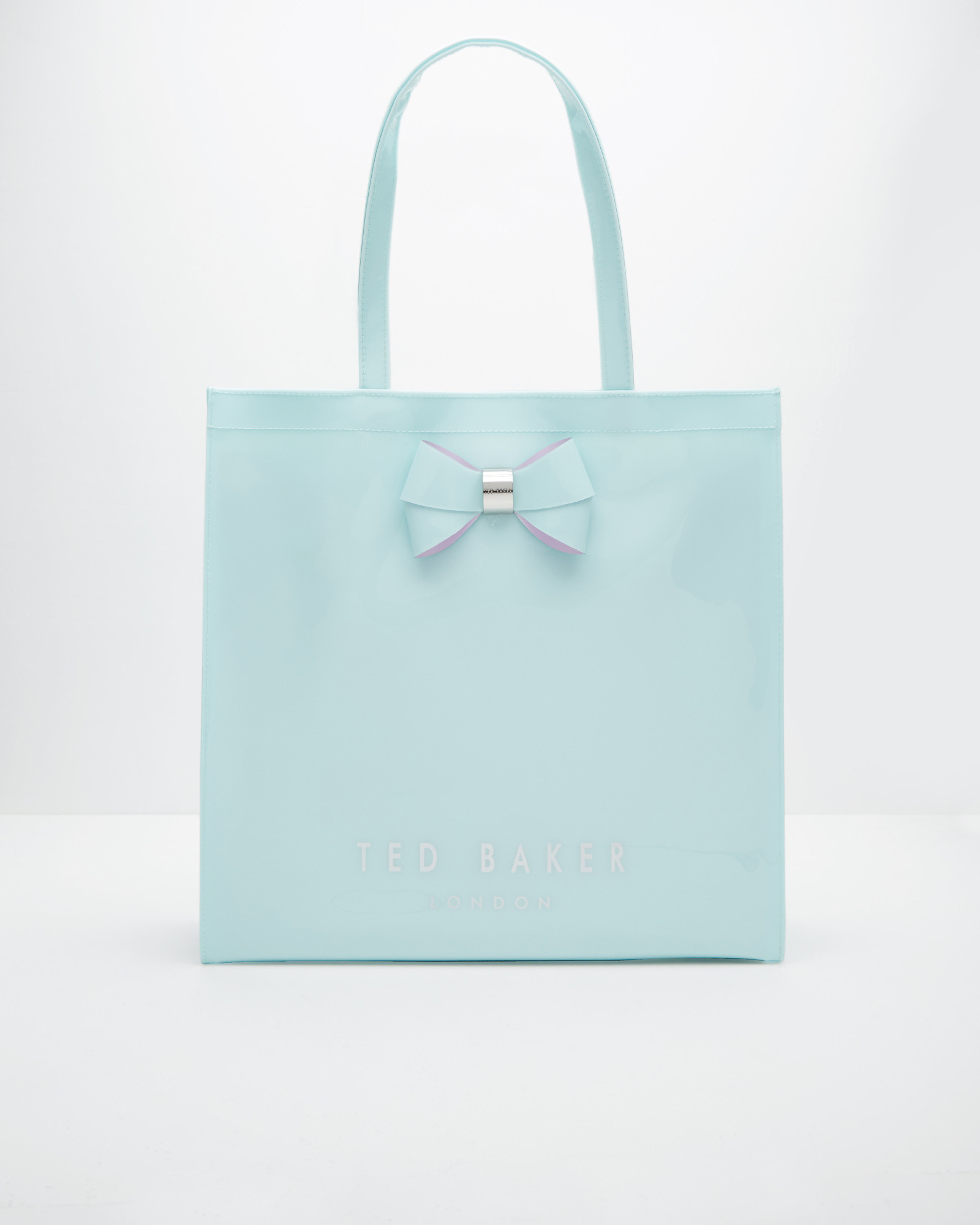 Ted Baker Bow Detail Large Shopper Bag In Green Lyst