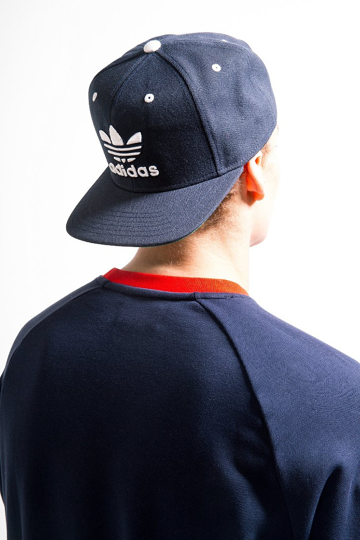 cab69c3040f ... release date lyst adidas originals thrasher classic snapback hat in  blue for men 00366 d4bc0