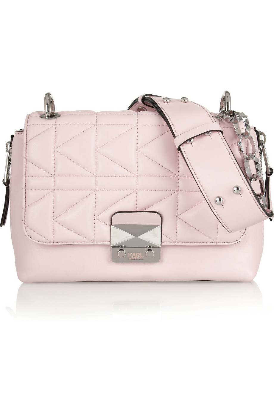 Pink shoulder bag Karl Lagerfeld Clearance Wholesale Price Free Shipping New Arrival Nicekicks Sale Online yzAxG8CWcY