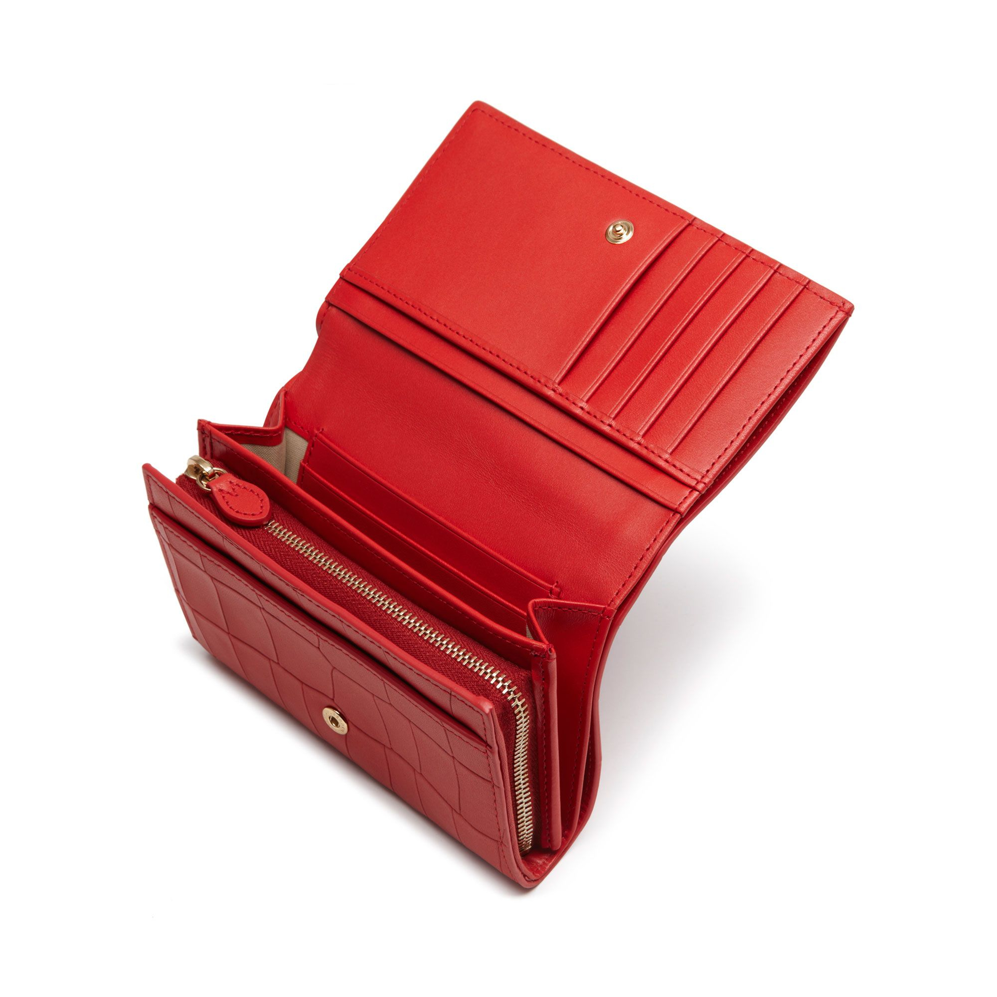Lyst - Mulberry French Purse in Red 81918da17276a
