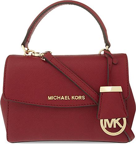 f367905b5595 MICHAEL Michael Kors Ava Extra Small Saffiano Leather Cross Body Bag ...