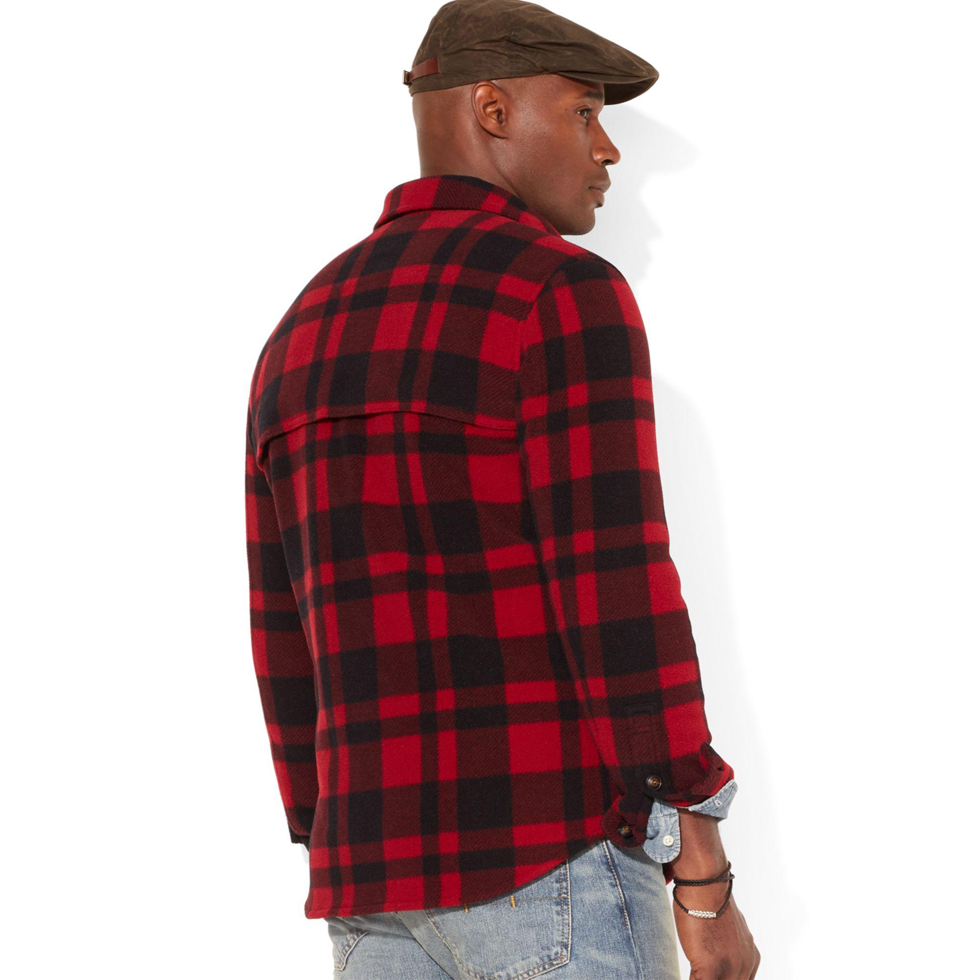 Lyst Polo Ralph Lauren Big And Tall Buffalo Plaid Shirt