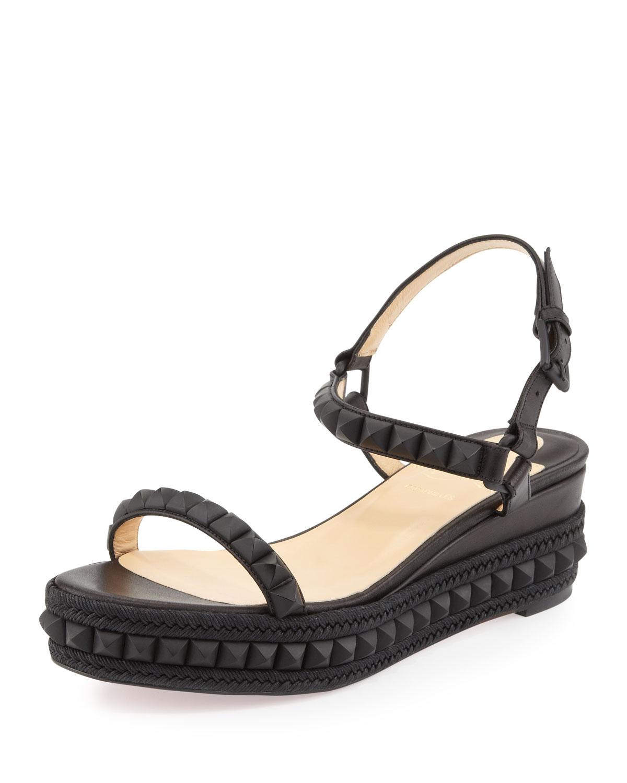 christian louboutin cataclou espadrille sandal