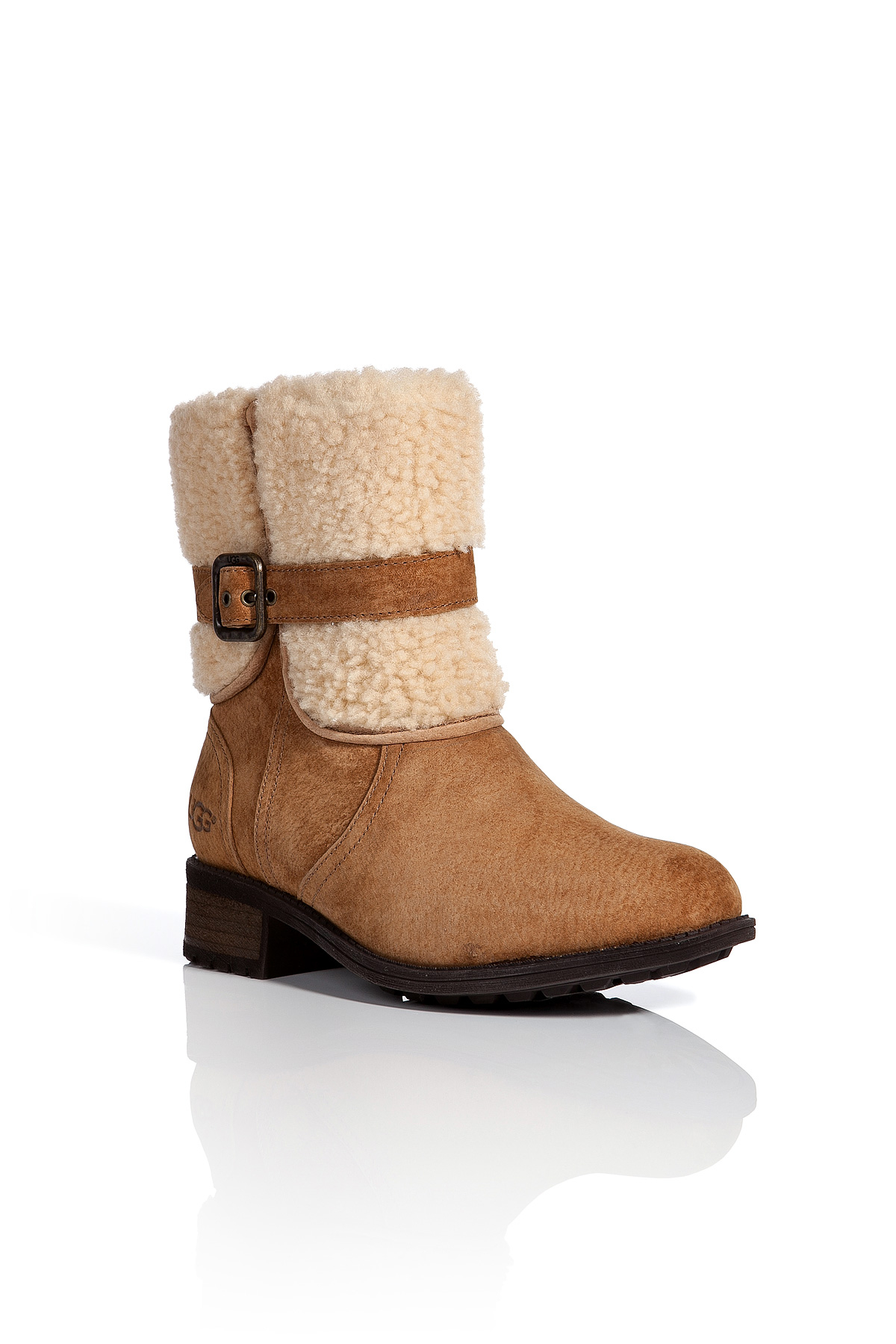 UGG Australia Shearling Suede Ankle Boots outlet best wholesale outlet free shipping 2Ol3g