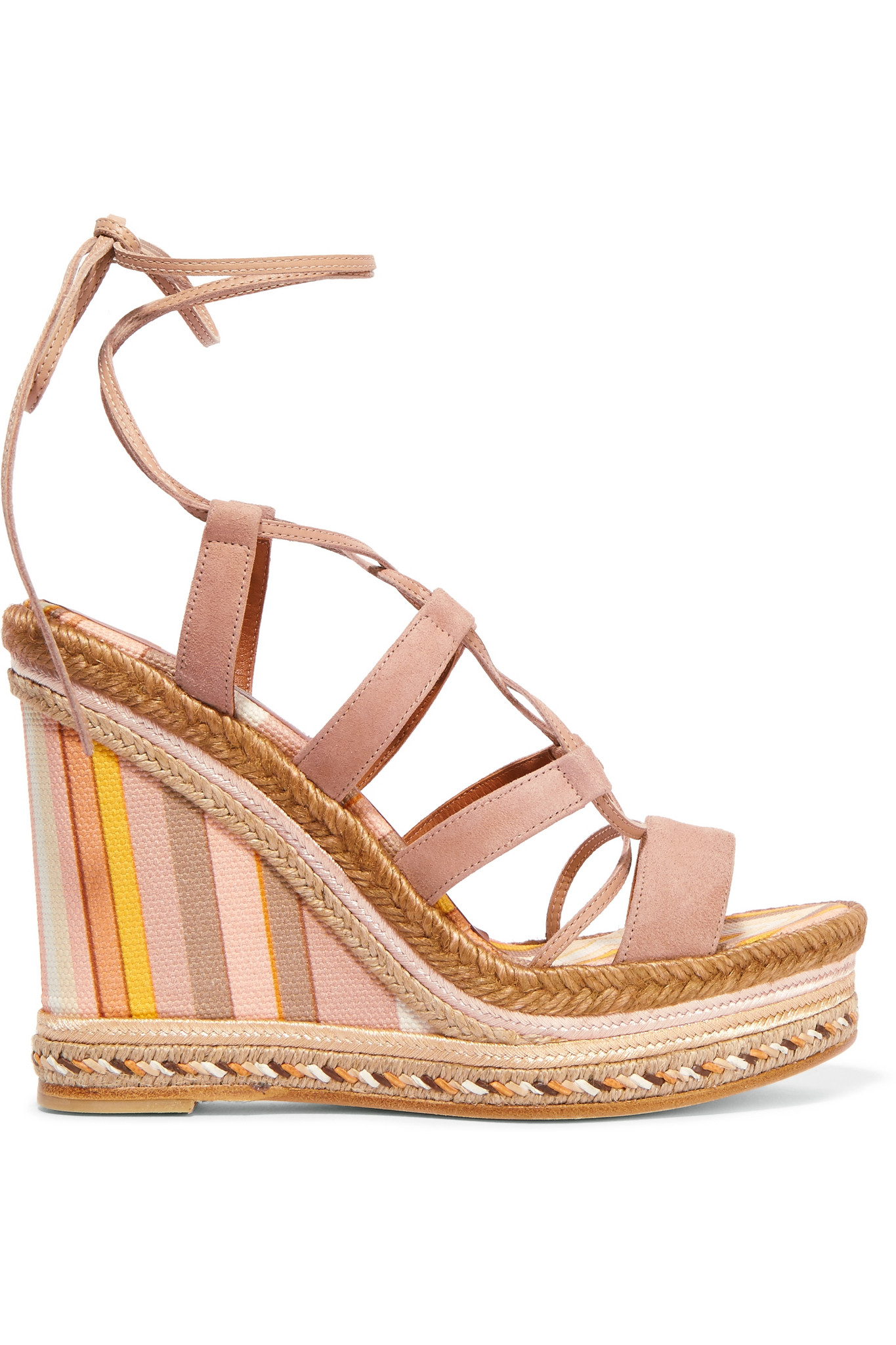 Valentino Canvas Wedge Sandals cheap sale 100% authentic discount deals high quality a7a5n