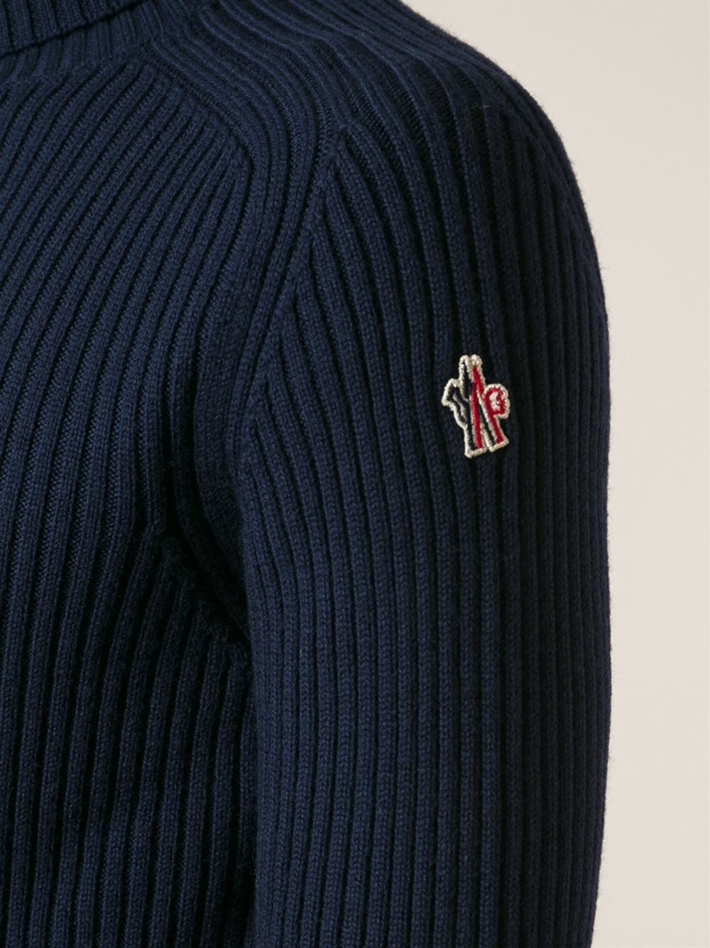 moncler red jumper