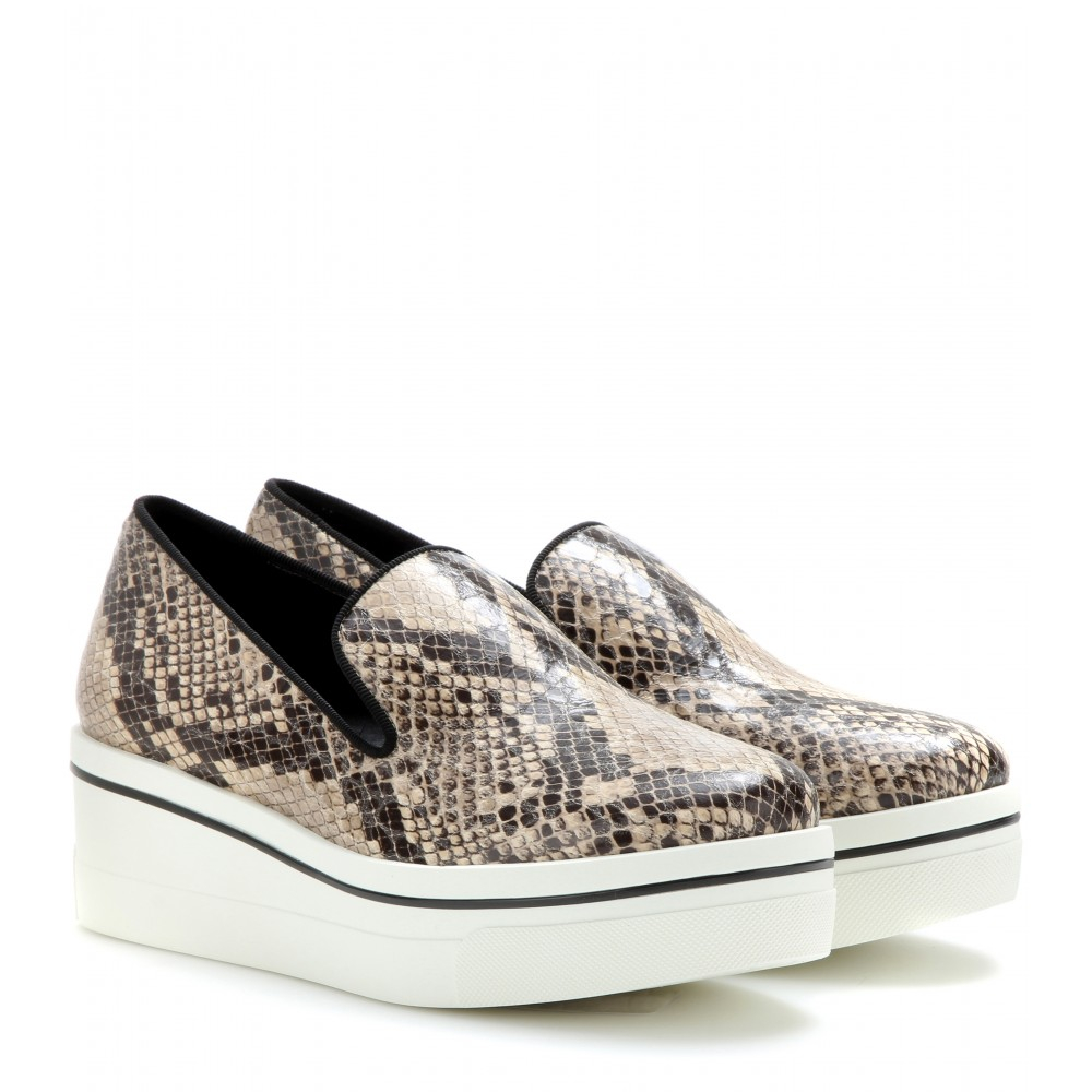 buy cheap perfect Stella McCartney Jacquard Slip-On Sneakers view bzz2Mqc