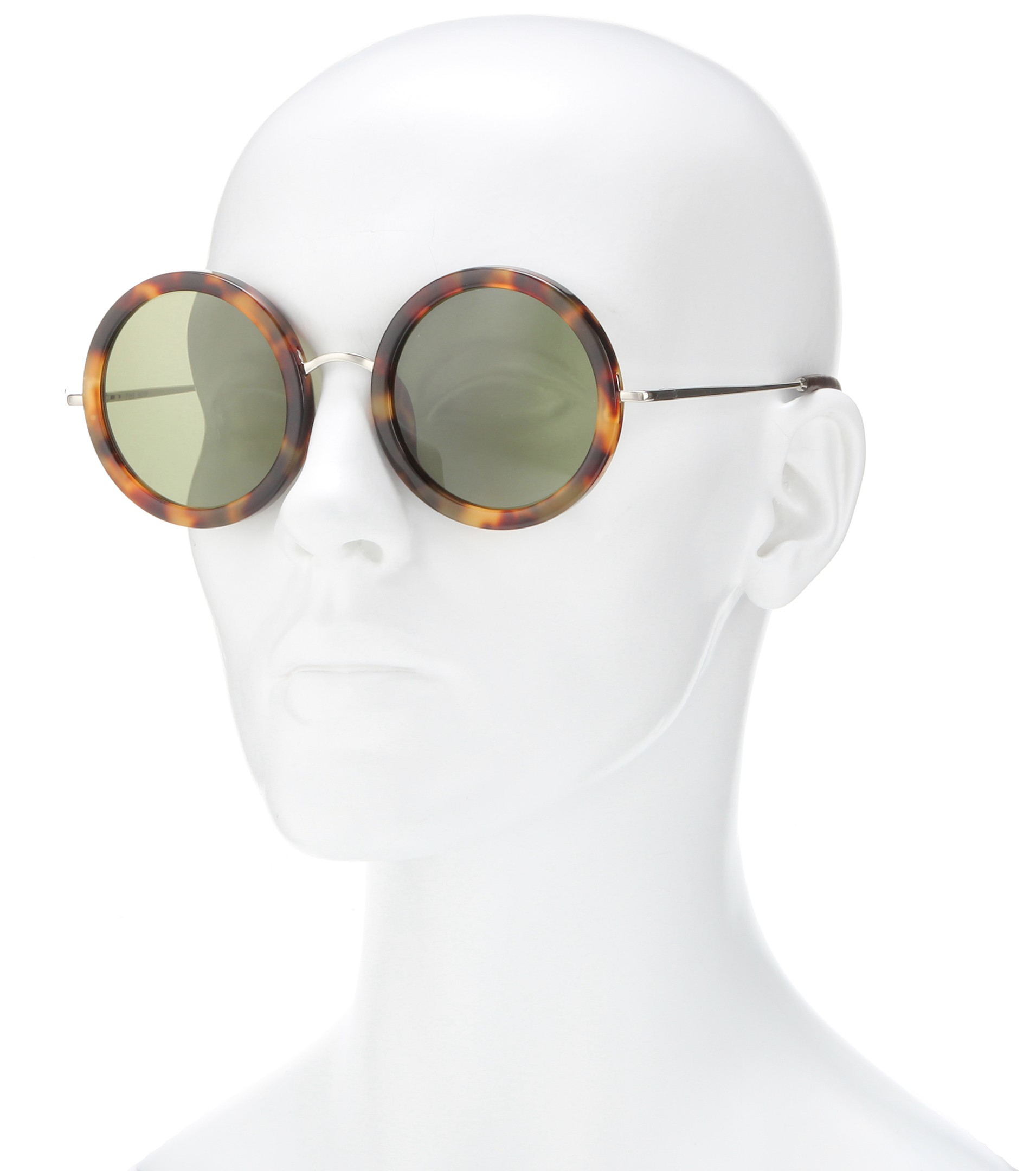 Lyst The Row 8 Sunglasses in Brown