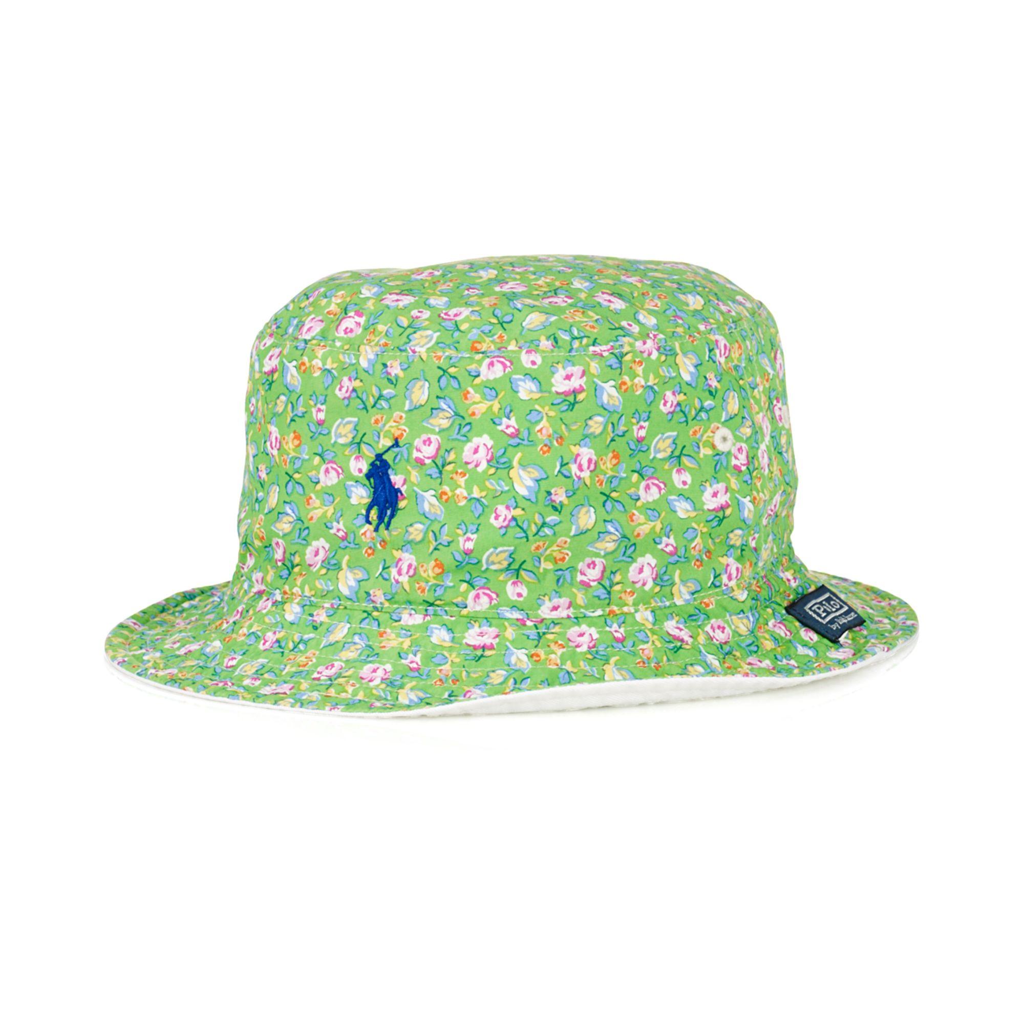 14380c7a01d7c Ralph Lauren Polo Reversible Floralprint Bucket Hat in Green for Men ...