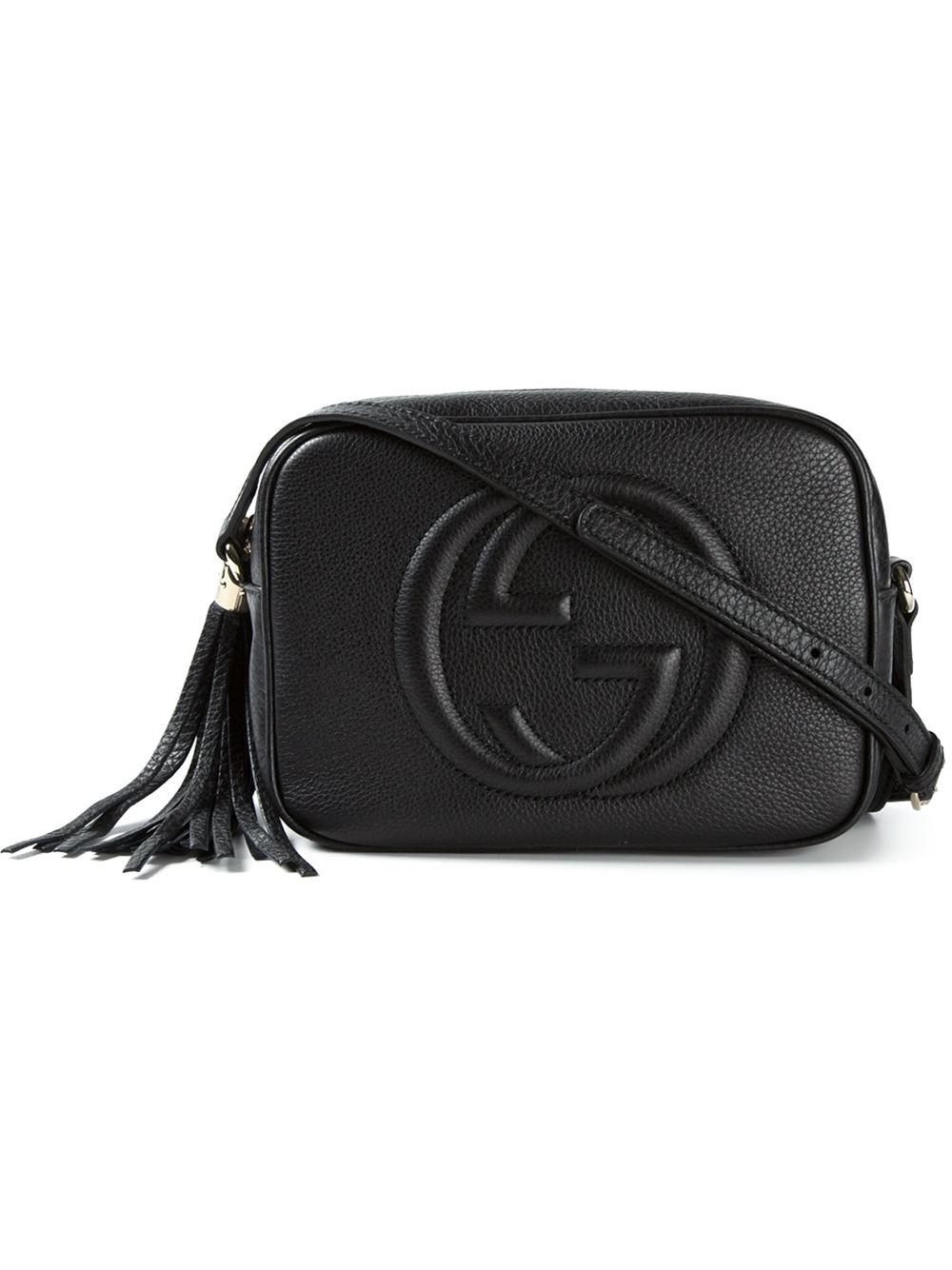 Chloe Black Bag Gucci Soho Leather Cross-body Bag in Black | Lyst