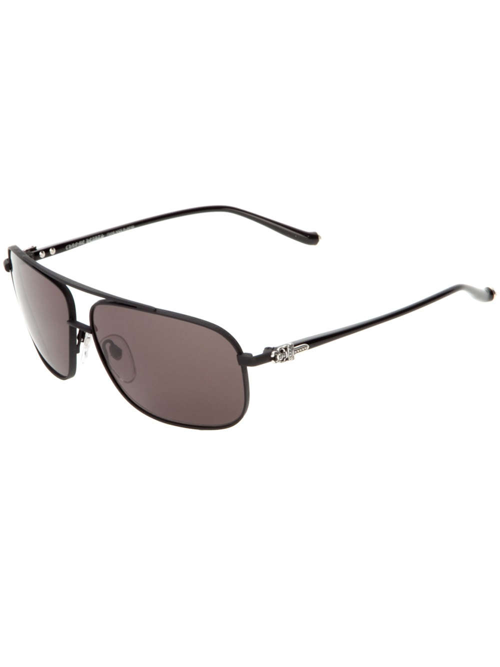 61522307593d Chrome Hearts Cross Bar Aviator Pork Sword in Black for Men - Lyst