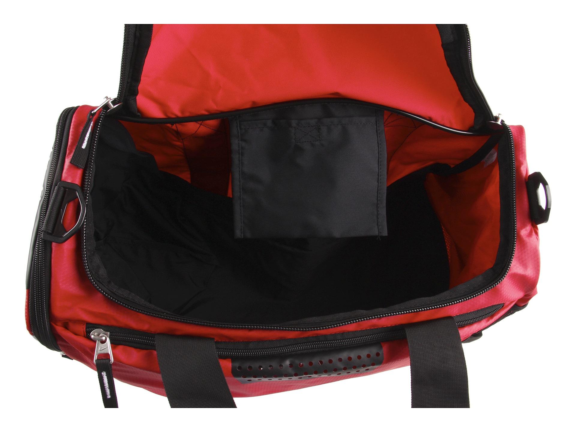 1bed04aab9d1 ... nike team training max air id duffel bag (medium) (orange lyst nike team  ...