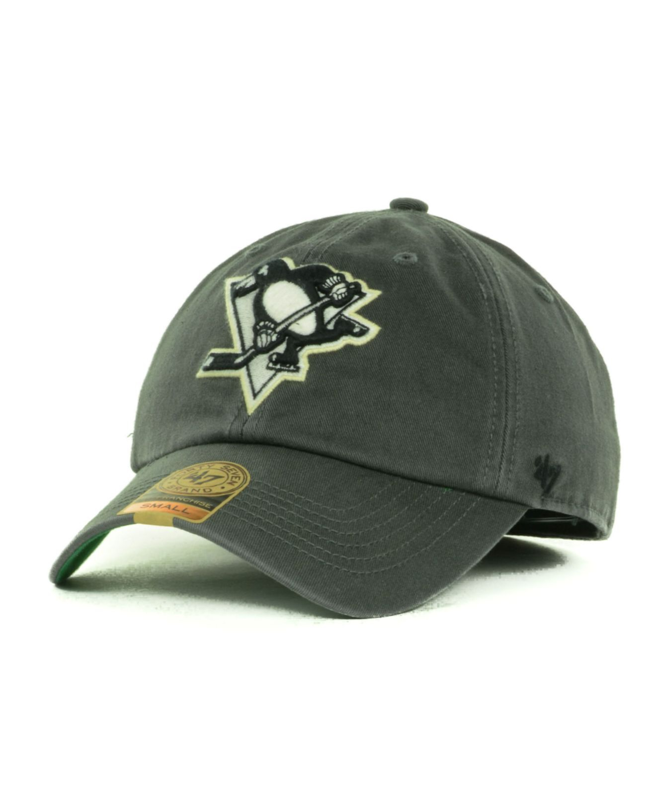 online store 8b61e 3647b ... new style lyst 47 brand pittsburgh penguins franchise cap in gray for  men 5a05b 0ae48