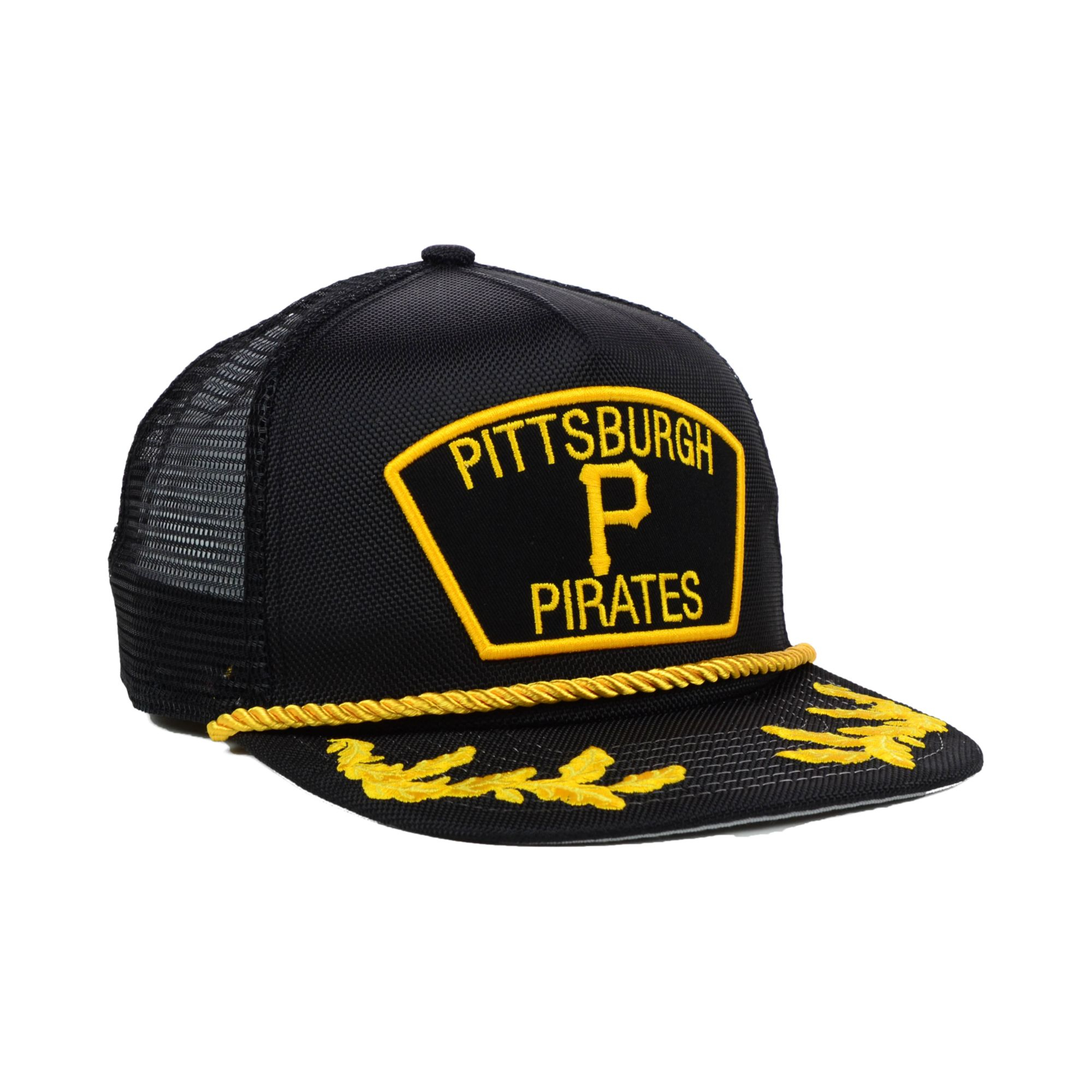 sports shoes 28418 76291 ... netherlands lyst ktz pittsburgh pirates mlb 9fifty snapback cap in black  for men 93313 25e8a