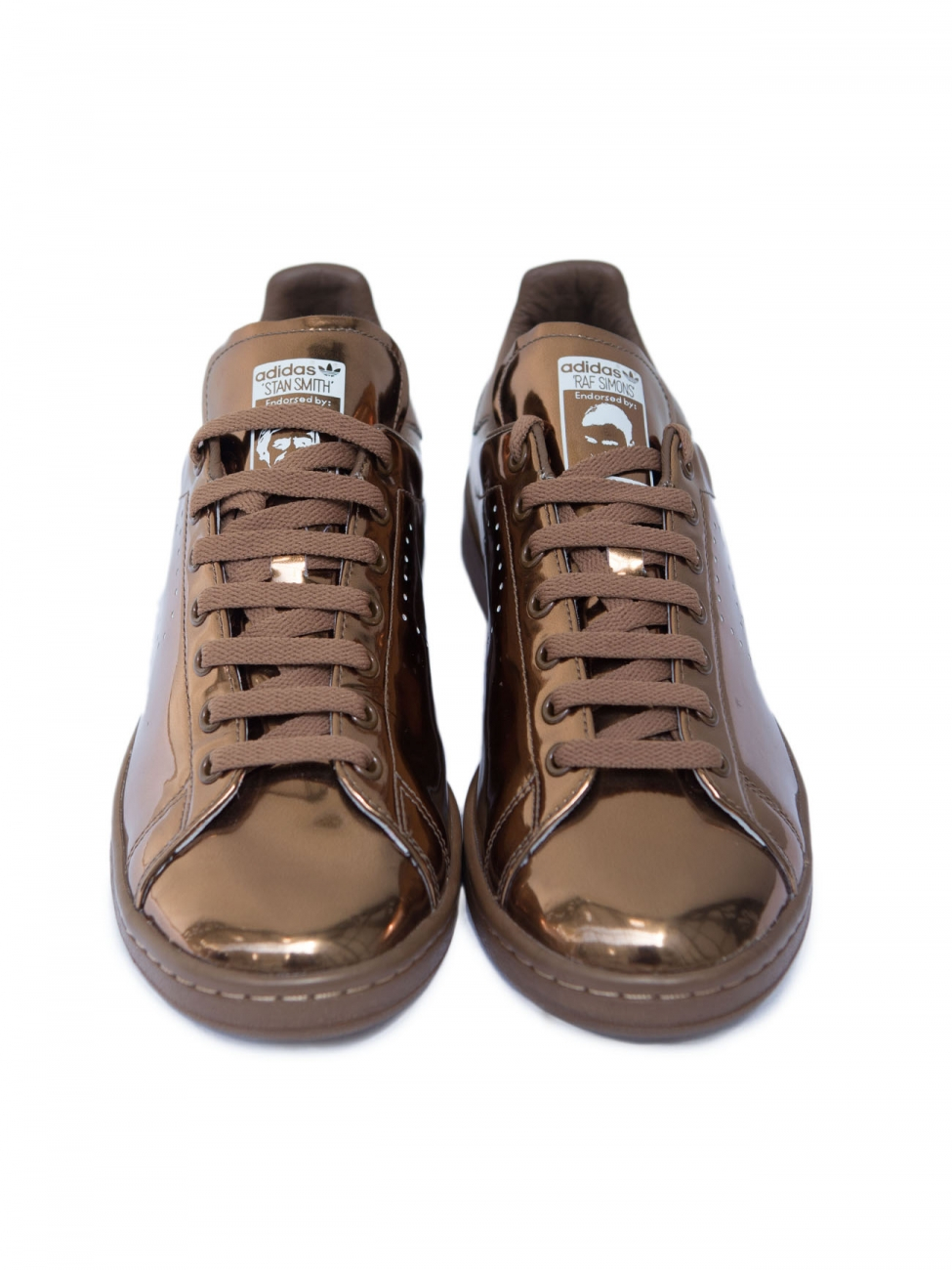 adidas stan smith gold brown