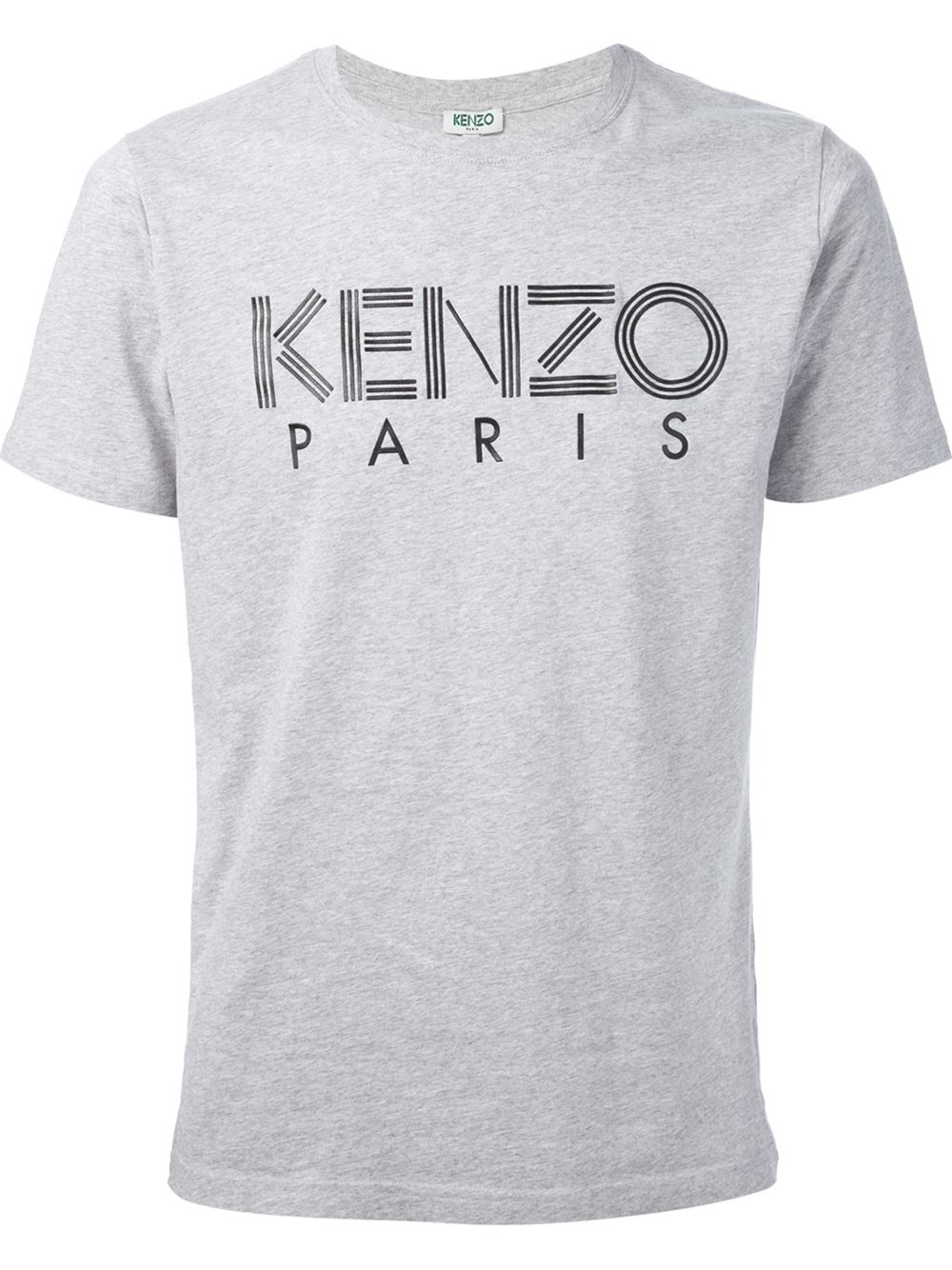 0b69713ee KENZO ' Paris' T-Shirt in Gray for Men - Lyst