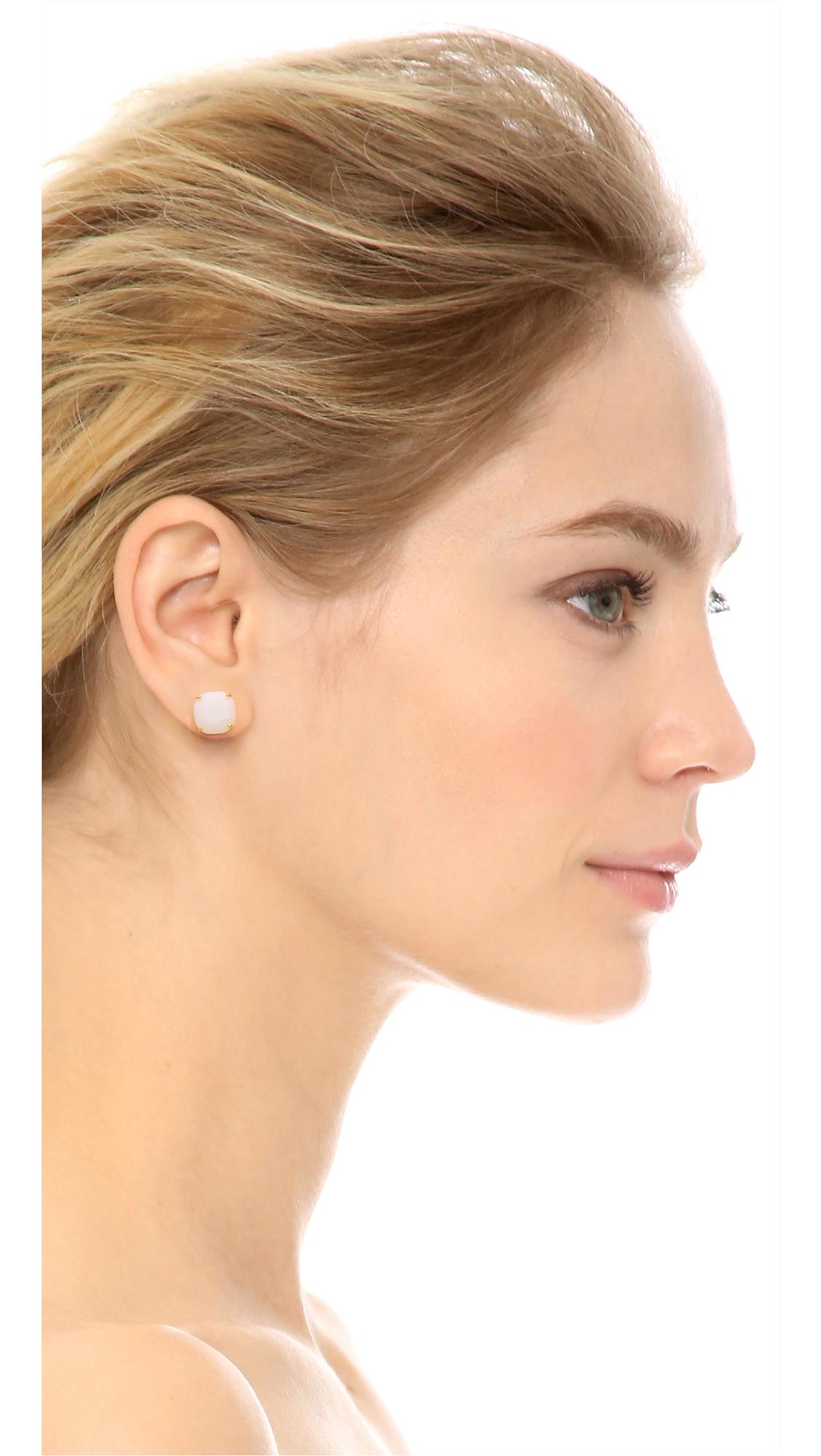 kate spade new york Small Square Stud Earrings YT7Ru