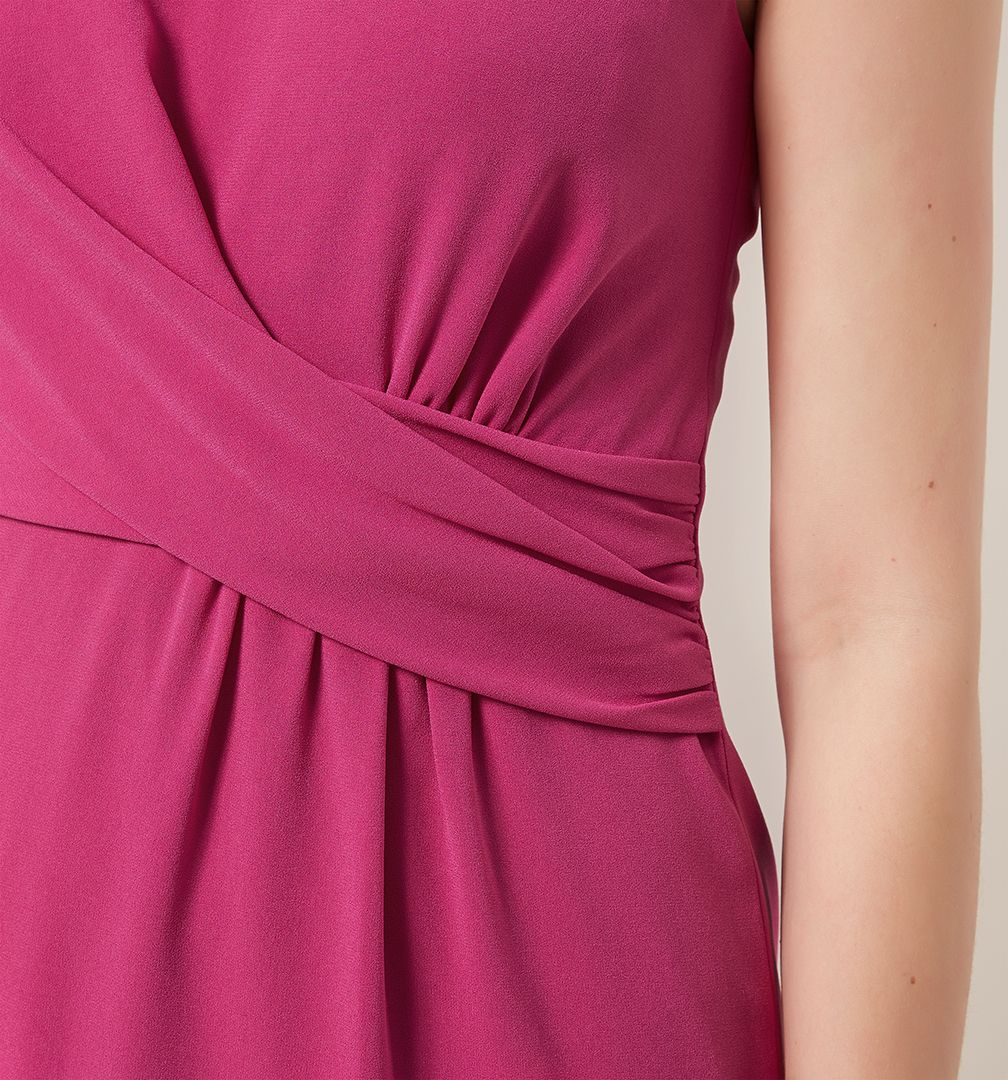 Hobbs Whitbourn Dress in Pink - Lyst