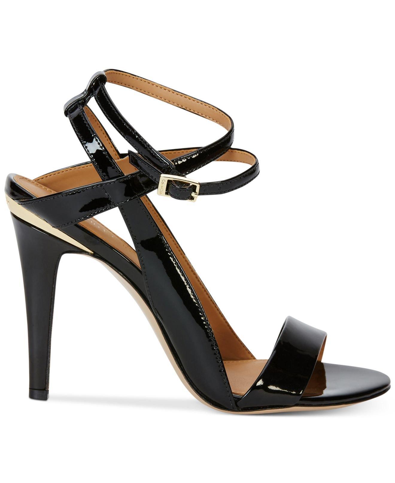 Womens Sandals Calvin Klein Melville Black
