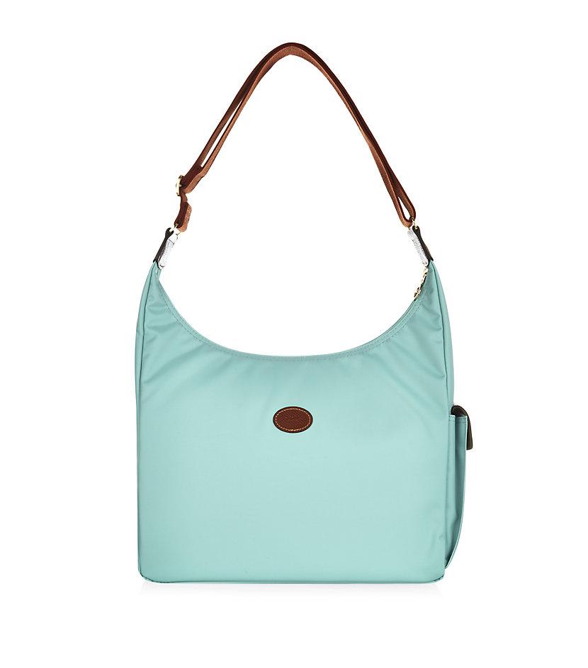 Longchamp Le Pliage Hobo Bag in Blue | Lyst
