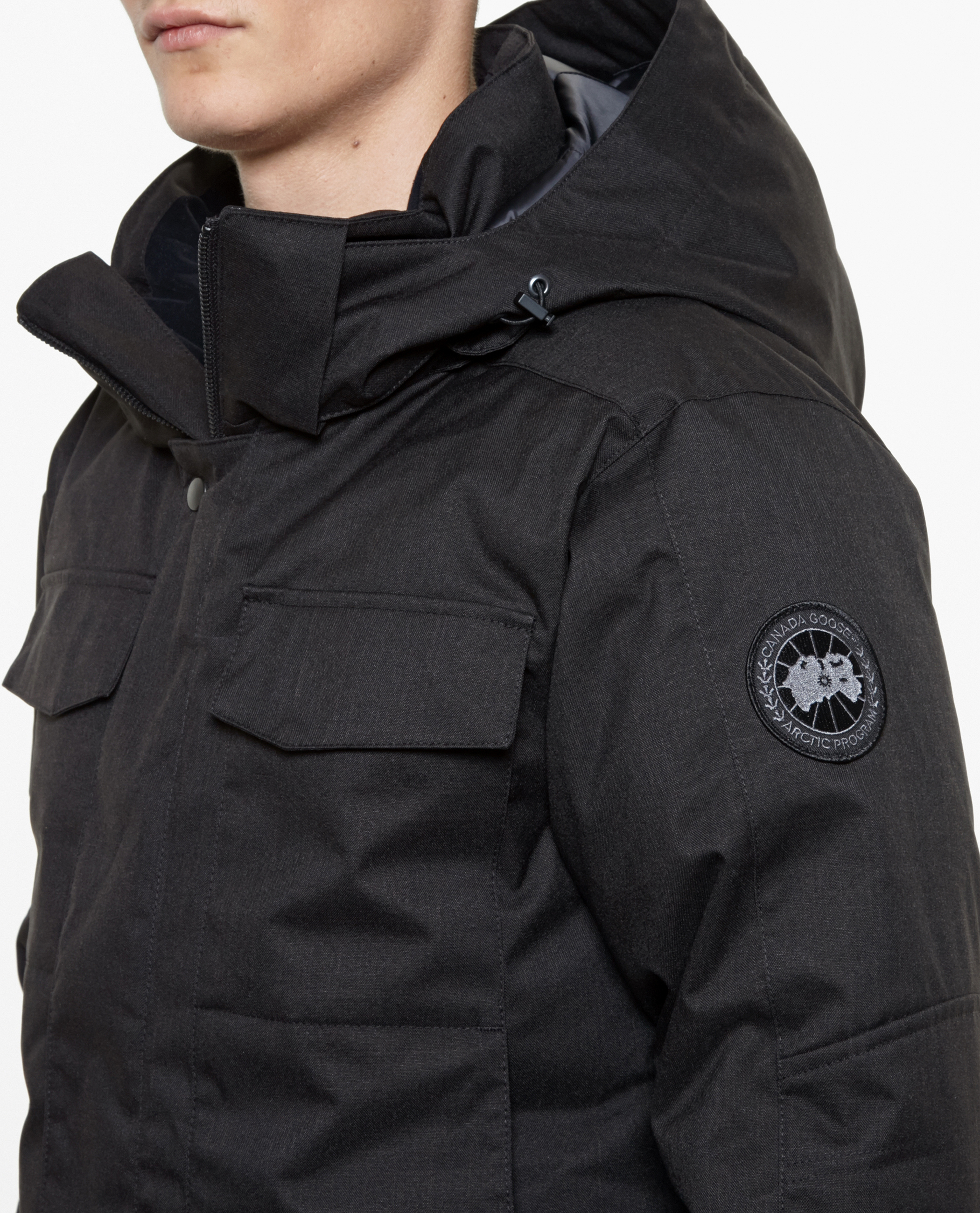 Canada Goose hats replica cheap - Canada goose Branta Windermere Coat in Black for Men | Lyst