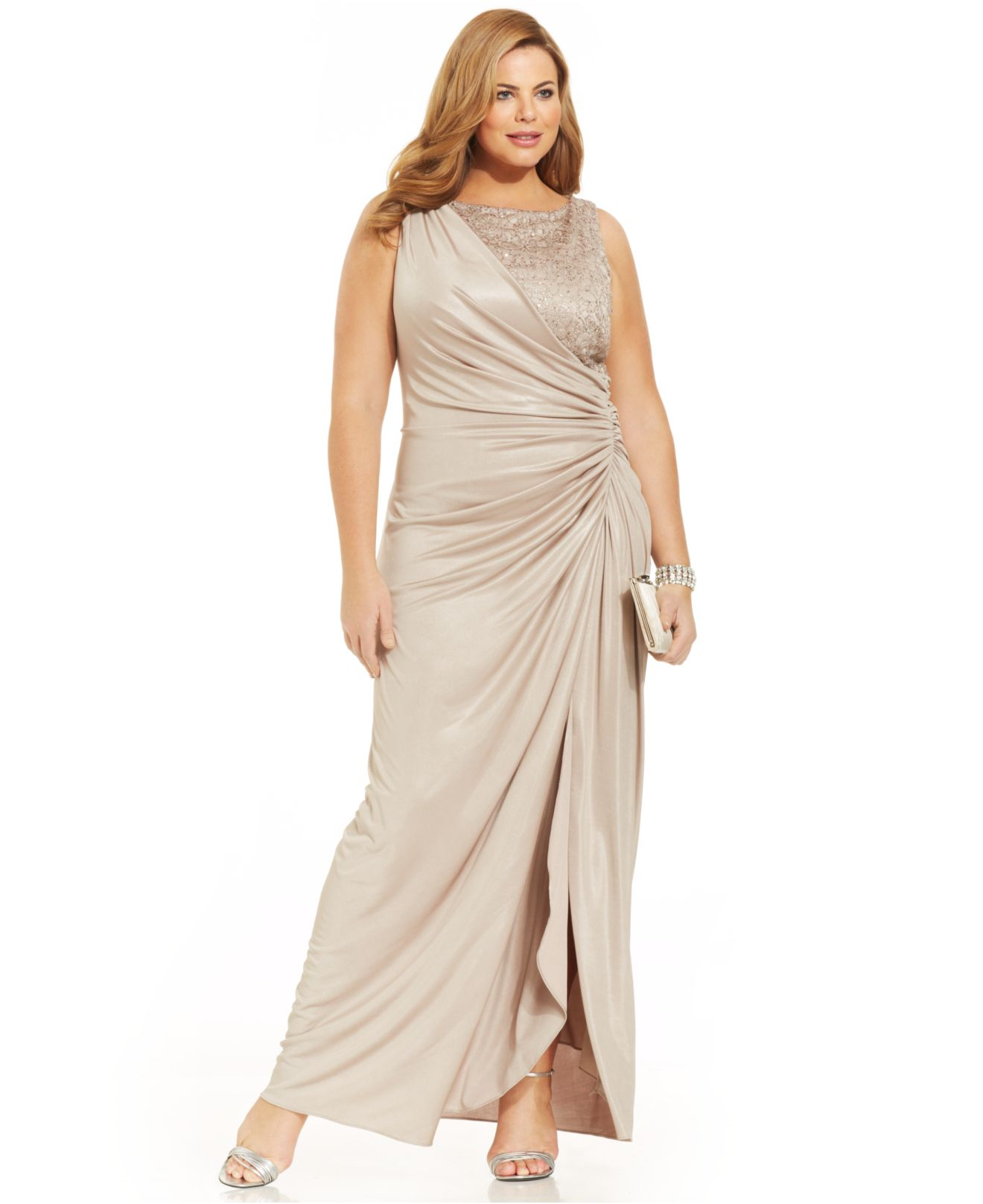 Our Choice of Top Plus Size Draped Dress Photos ...