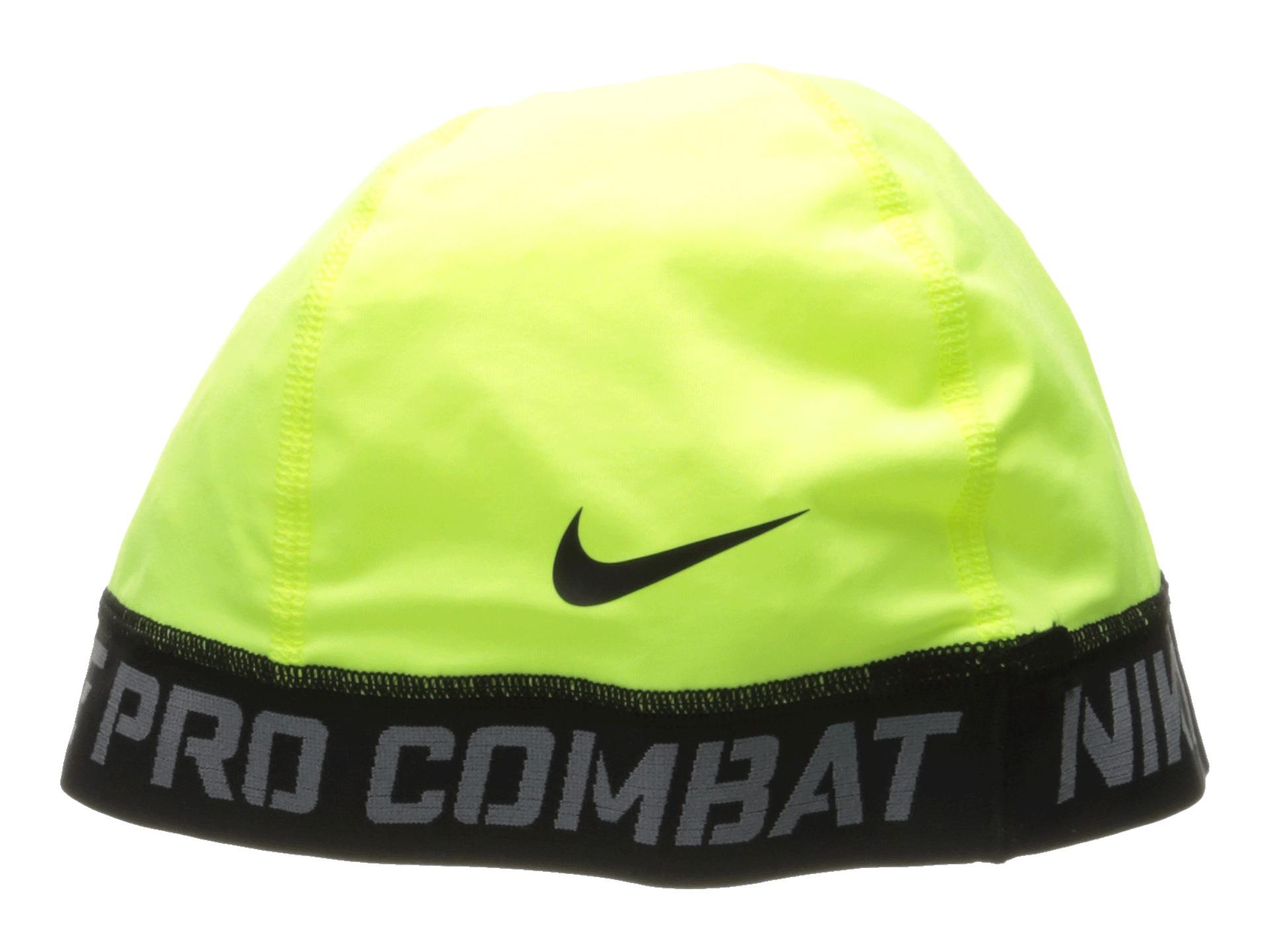 0095370835ea5 Lyst - Nike Pro Combat Banded Skull Cap 2.0 in Green
