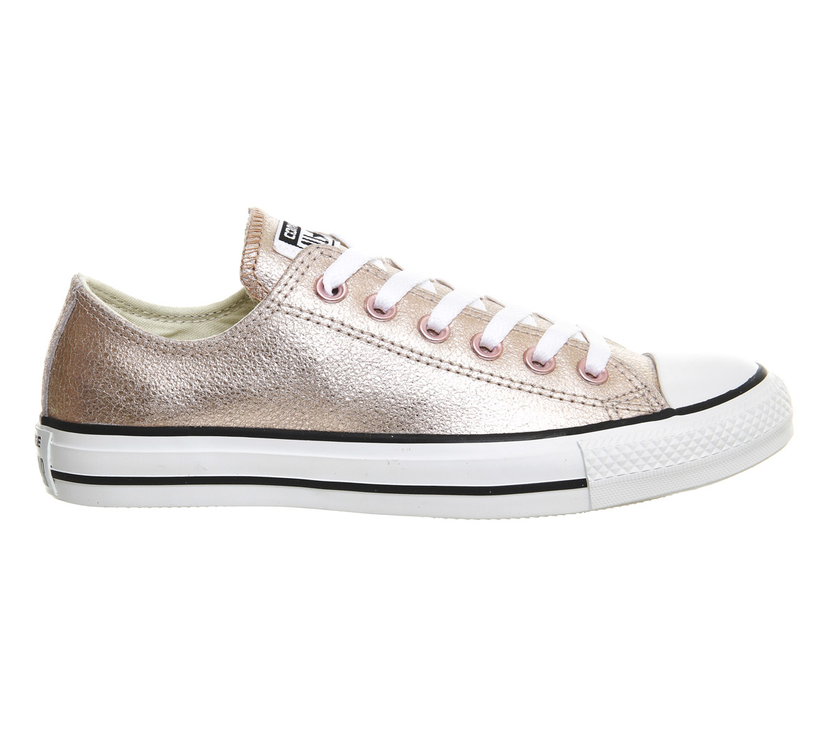 Converse Metallic Pink Shoes