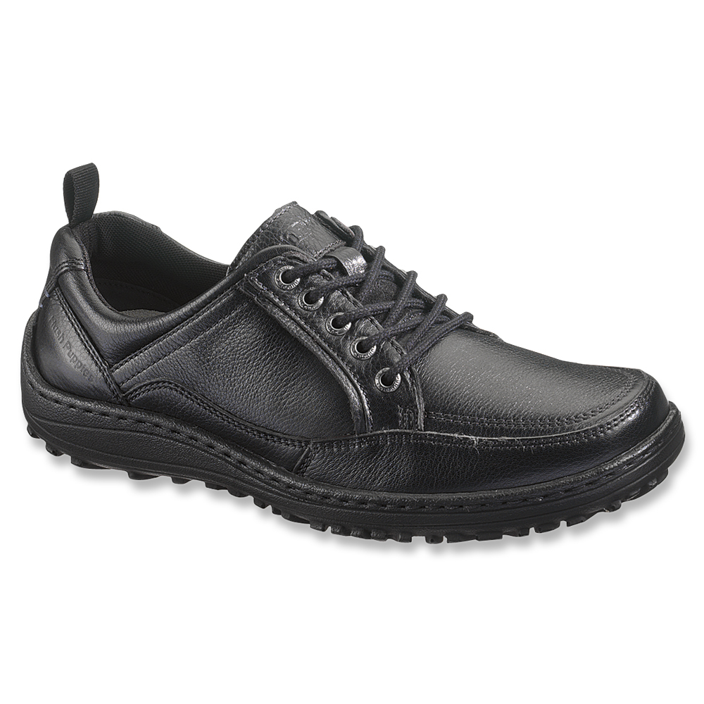 Hush Puppies Black Oxford Shoes