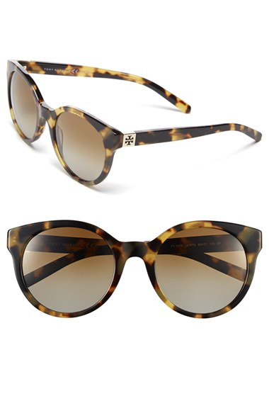 Lyst Tory Burch 54mm Polarized Cat Eye Sunglasses