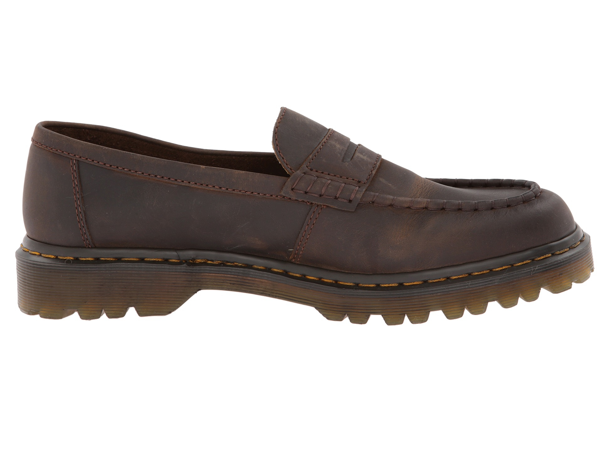 5aa6d4d3c4a Lyst - Dr. Martens Mabbott Penny Loafer in Brown for Men