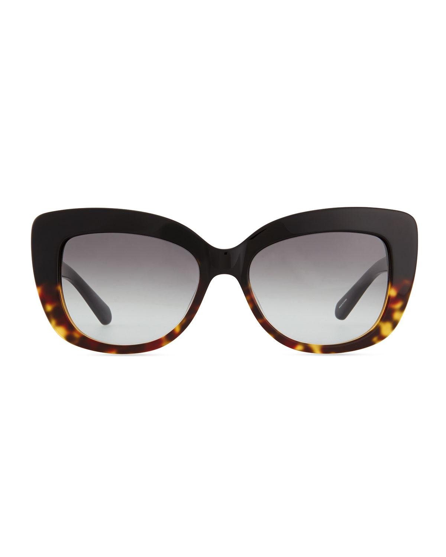 Kate Spade Tortoise Cat Eye Sunglasses
