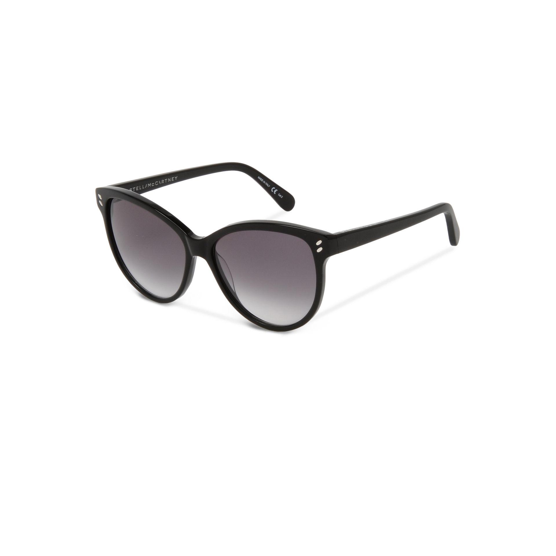 3d531f73f8 Lyst - Stella McCartney Black Cat Eye Sunglasses in Black