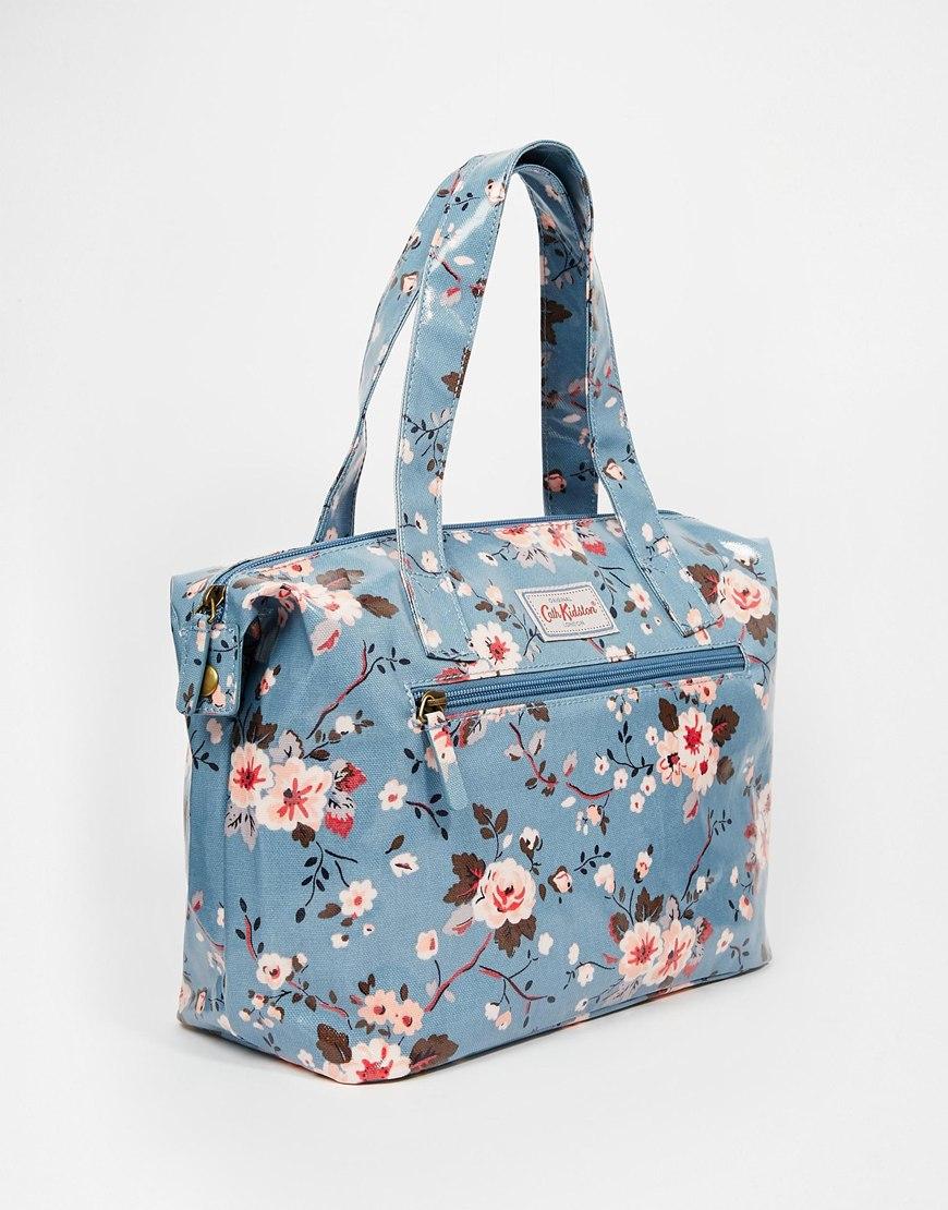 cath kidston small zipped handbag lyst. Black Bedroom Furniture Sets. Home Design Ideas