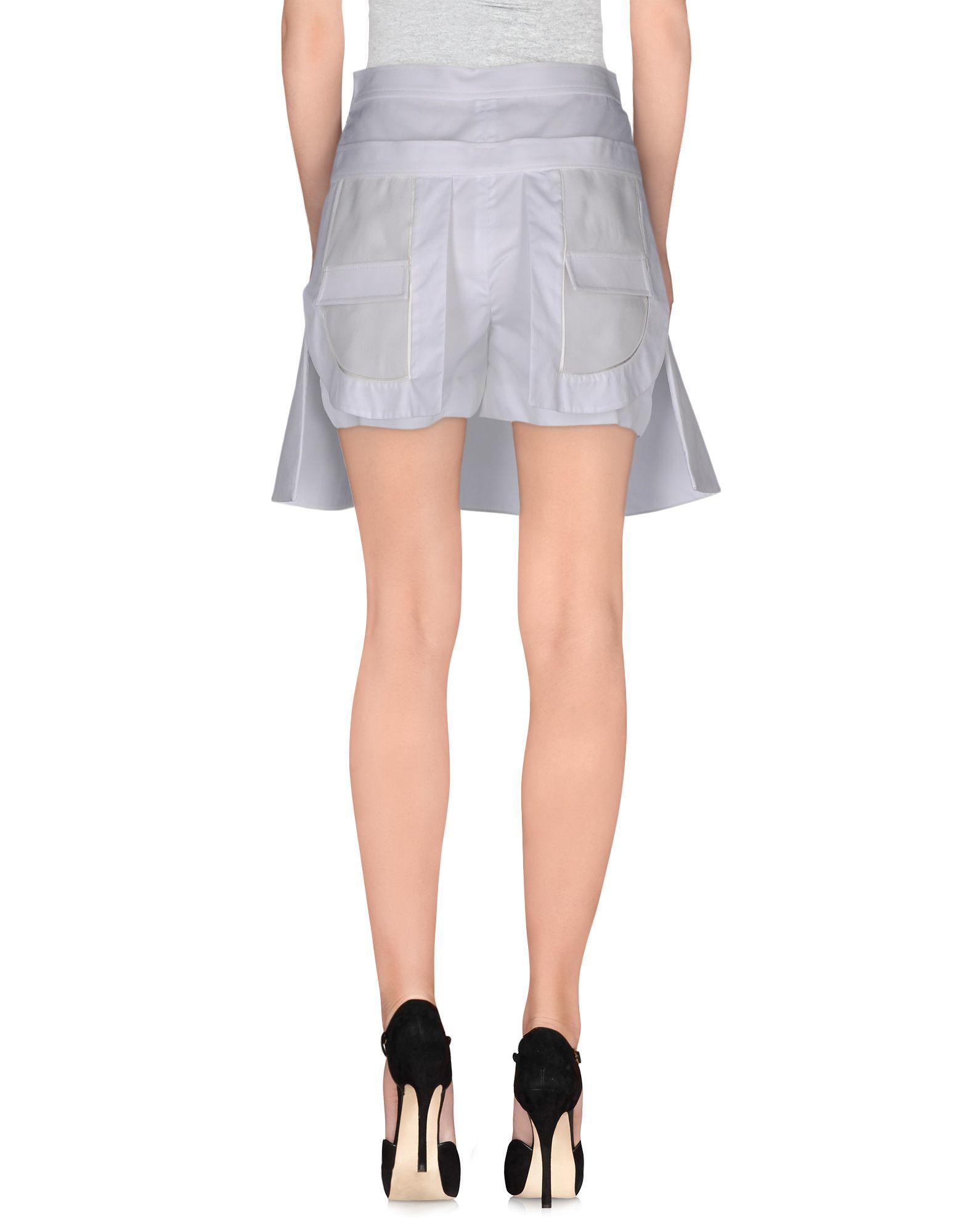 ports 1961 mini skirt in white lyst