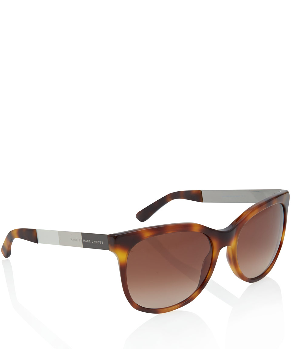 c8e74f70ad Marc By Marc Jacobs Tortoiseshell Classic Acetate Sunglasses in ...