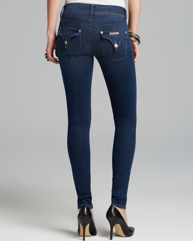 Hudson jeans Jeans Collin Skinny in Wanderlust in Blue | Lyst