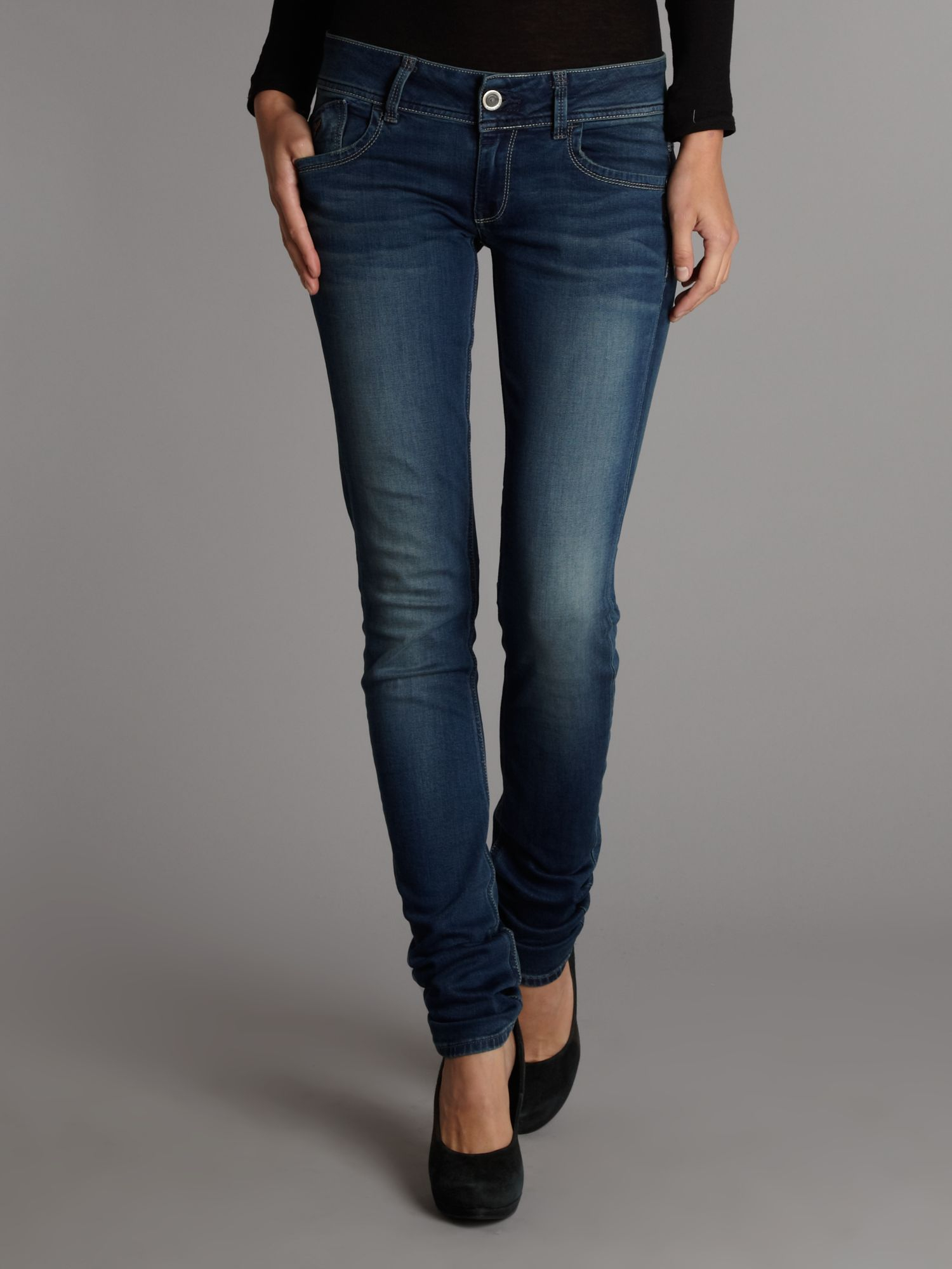 G Star Raw Lynn Skinny Curve Leg Jean In Blue Lyst