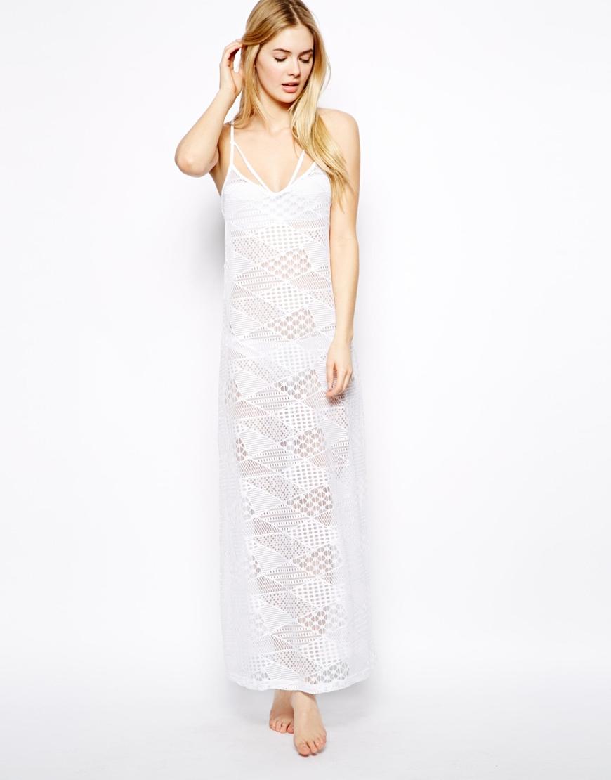 Asos maxi beach dress