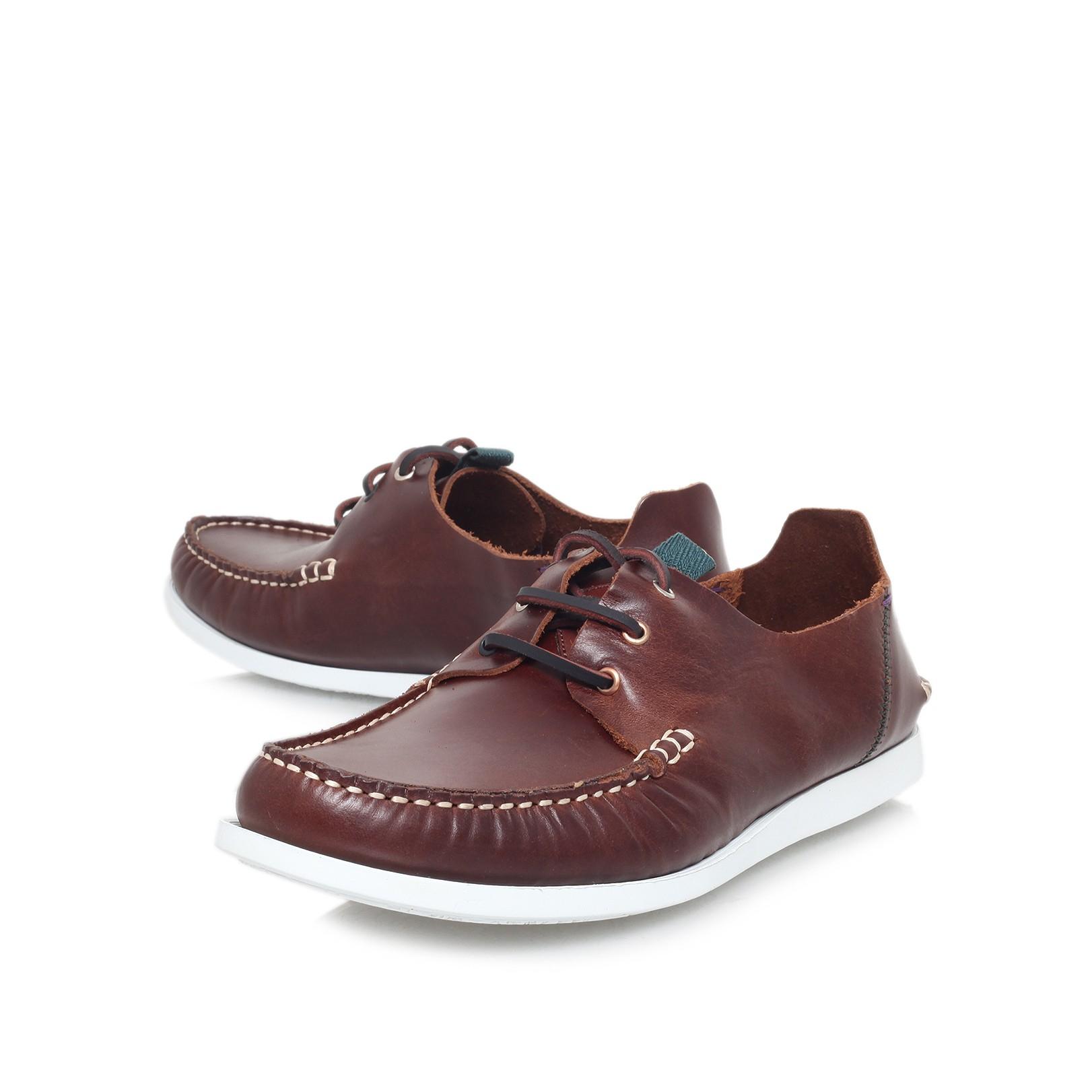 d96c75c9d53 Paul Smith Dagama Boat Shoe in Brown for Men - Lyst
