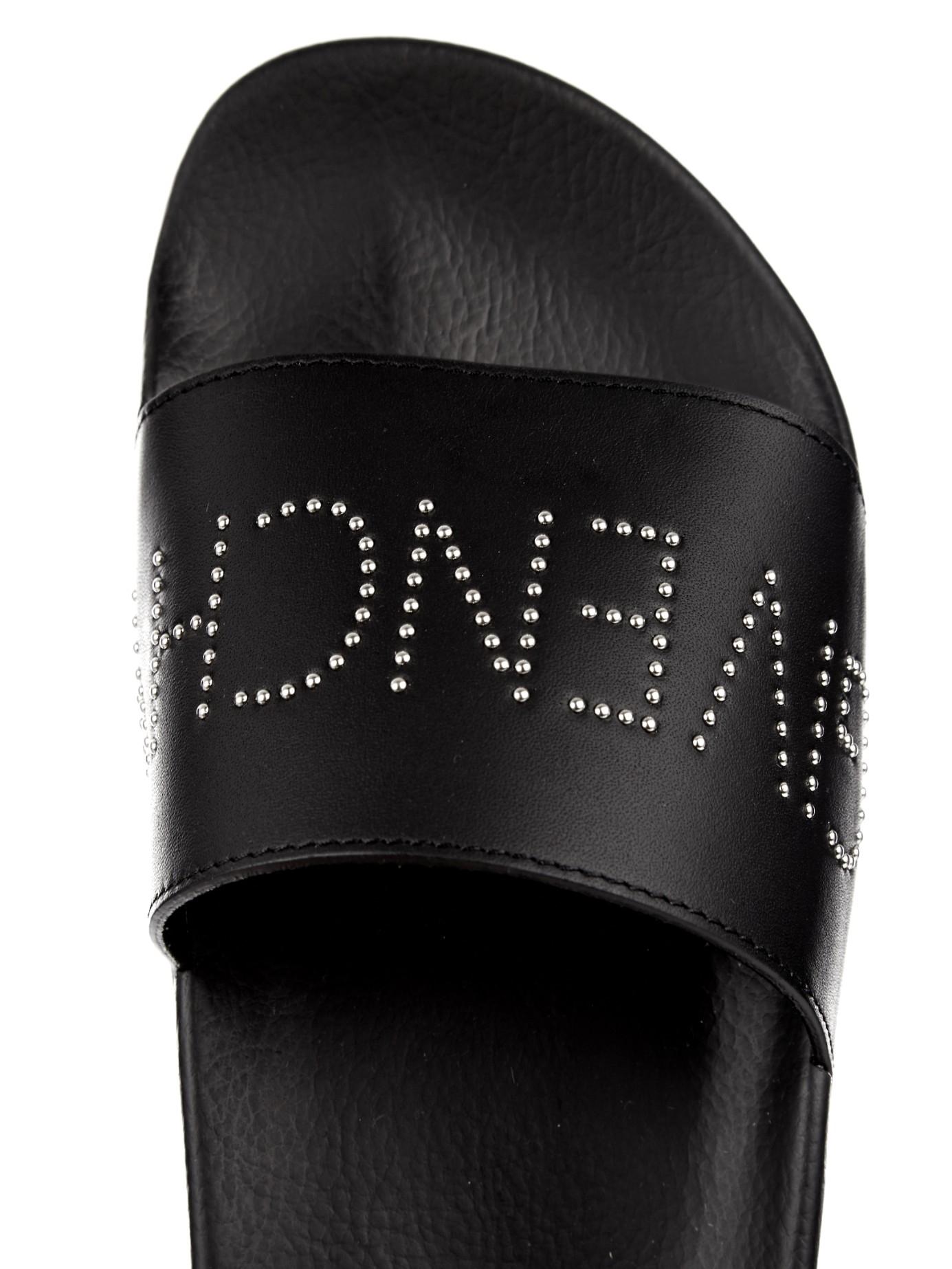 Givenchy Rubber Pool Slide Sandals In Black For Men Lyst