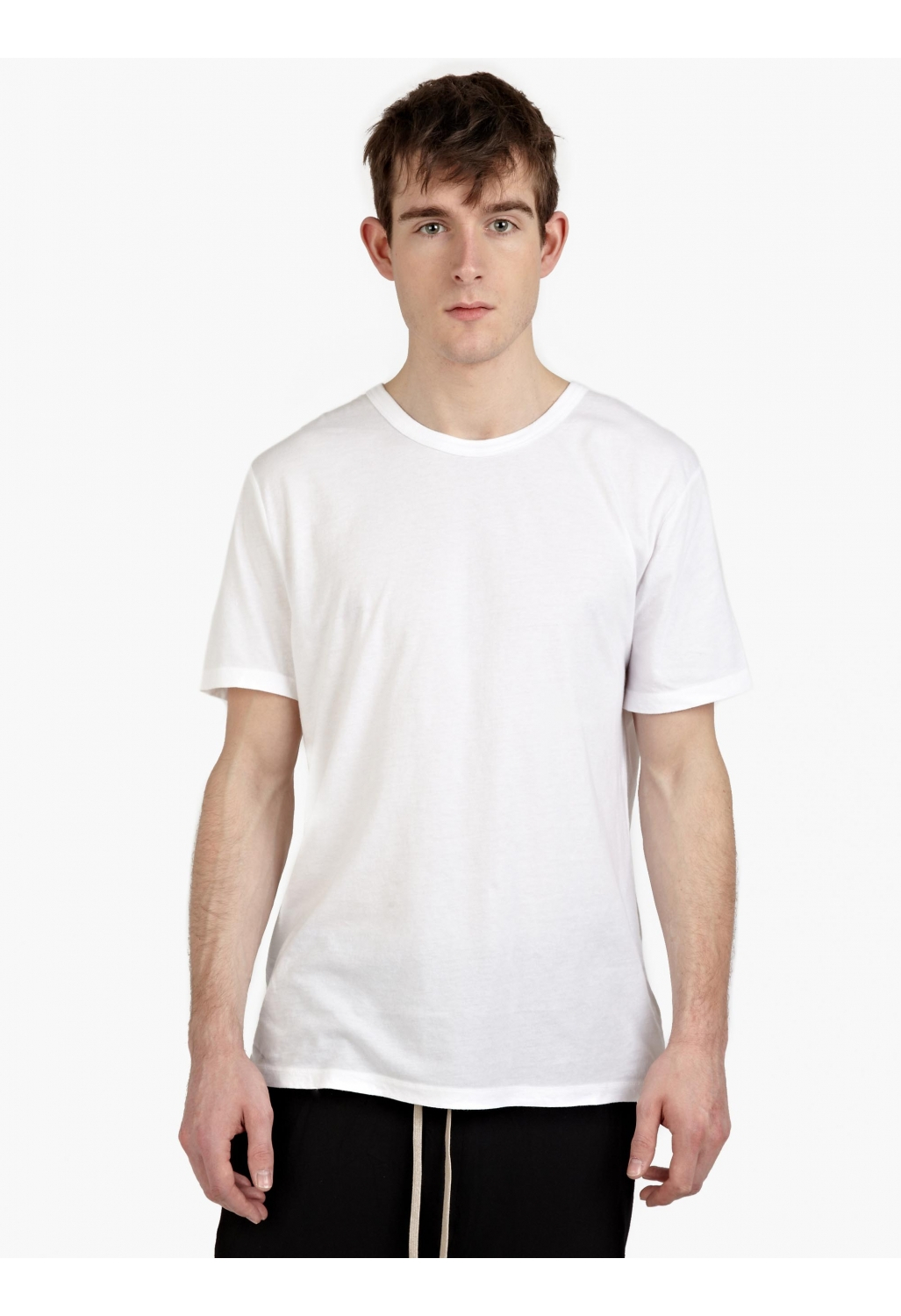 t by alexander wang men s white cotton t shirt in white. Black Bedroom Furniture Sets. Home Design Ideas