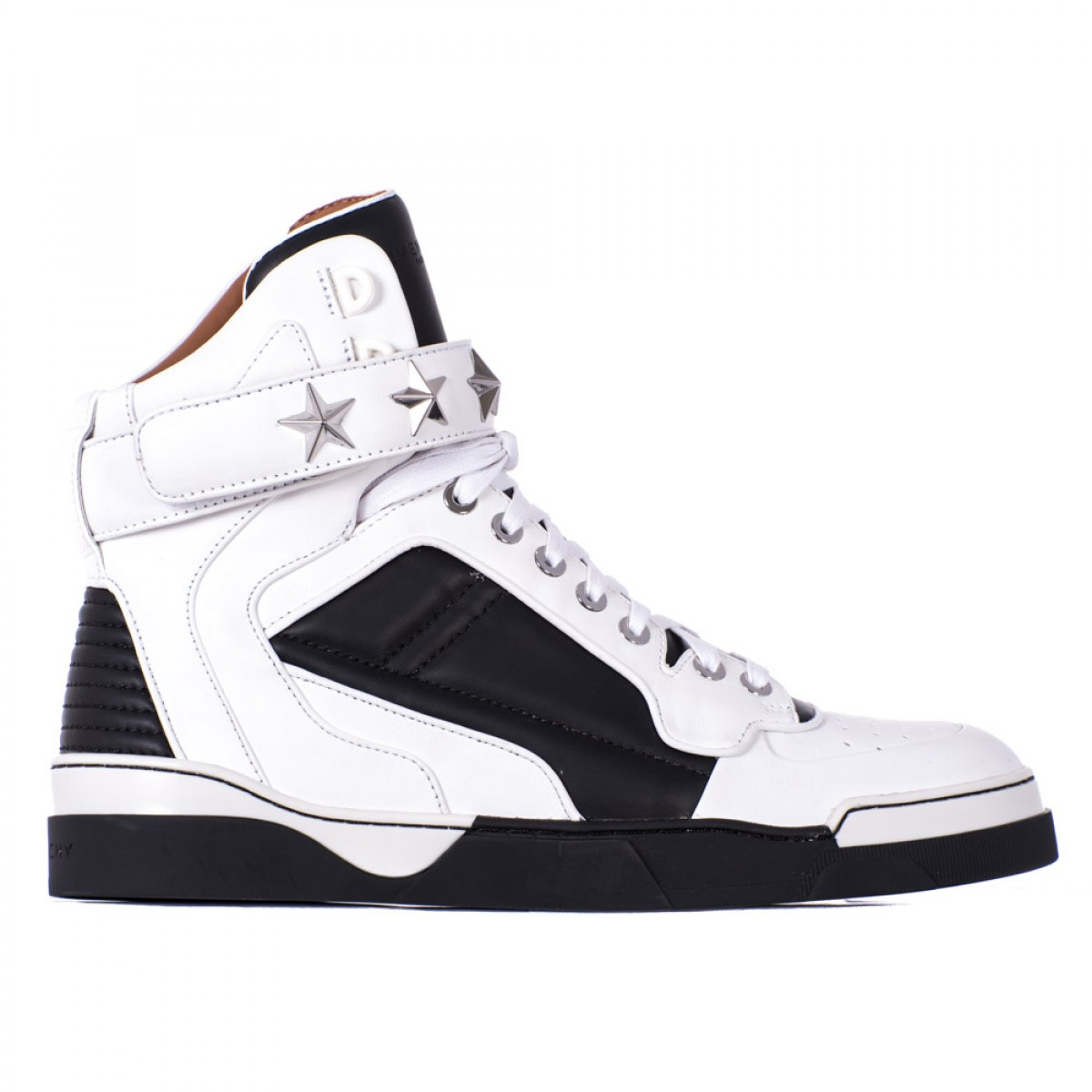 Givenchy Tyson Leather Sneakers in White for Men (black ...