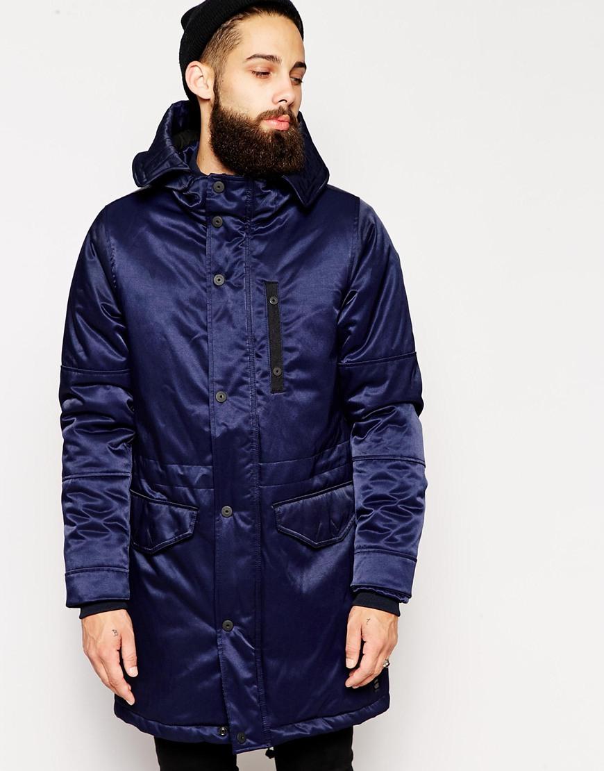 g star raw g star hooded parka jacket verdem patrol nylon. Black Bedroom Furniture Sets. Home Design Ideas