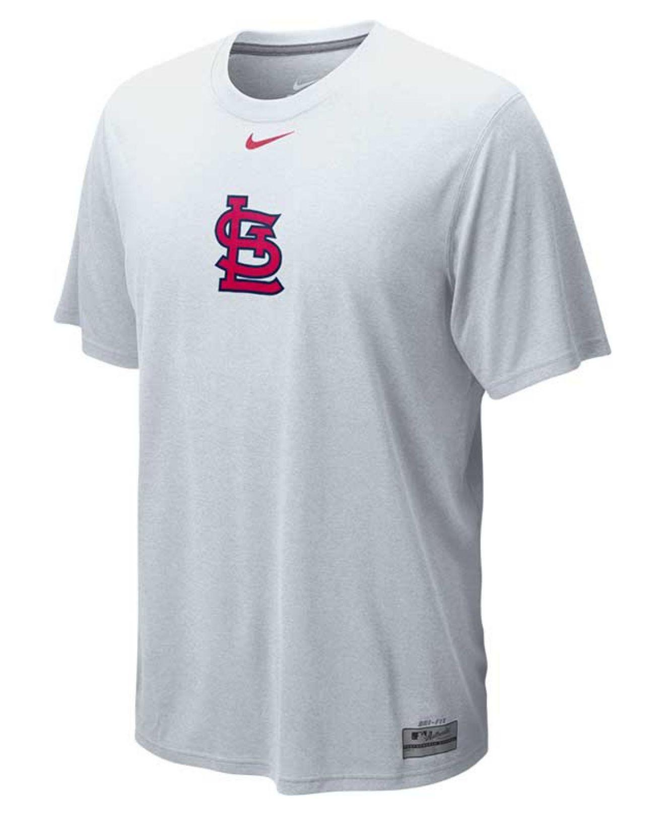 Lyst - Nike Men s St. Louis Cardinals Dri-fit Logo Legend T-shirt in ... a6f6f894e