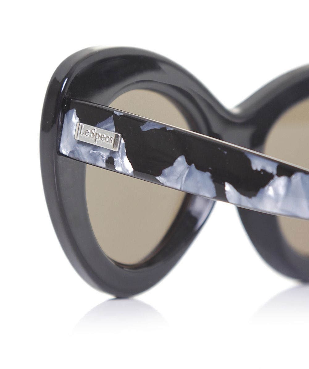 Lyst - Le Specs Go Go Go Marble Sunglasses in Black b5594e594b8