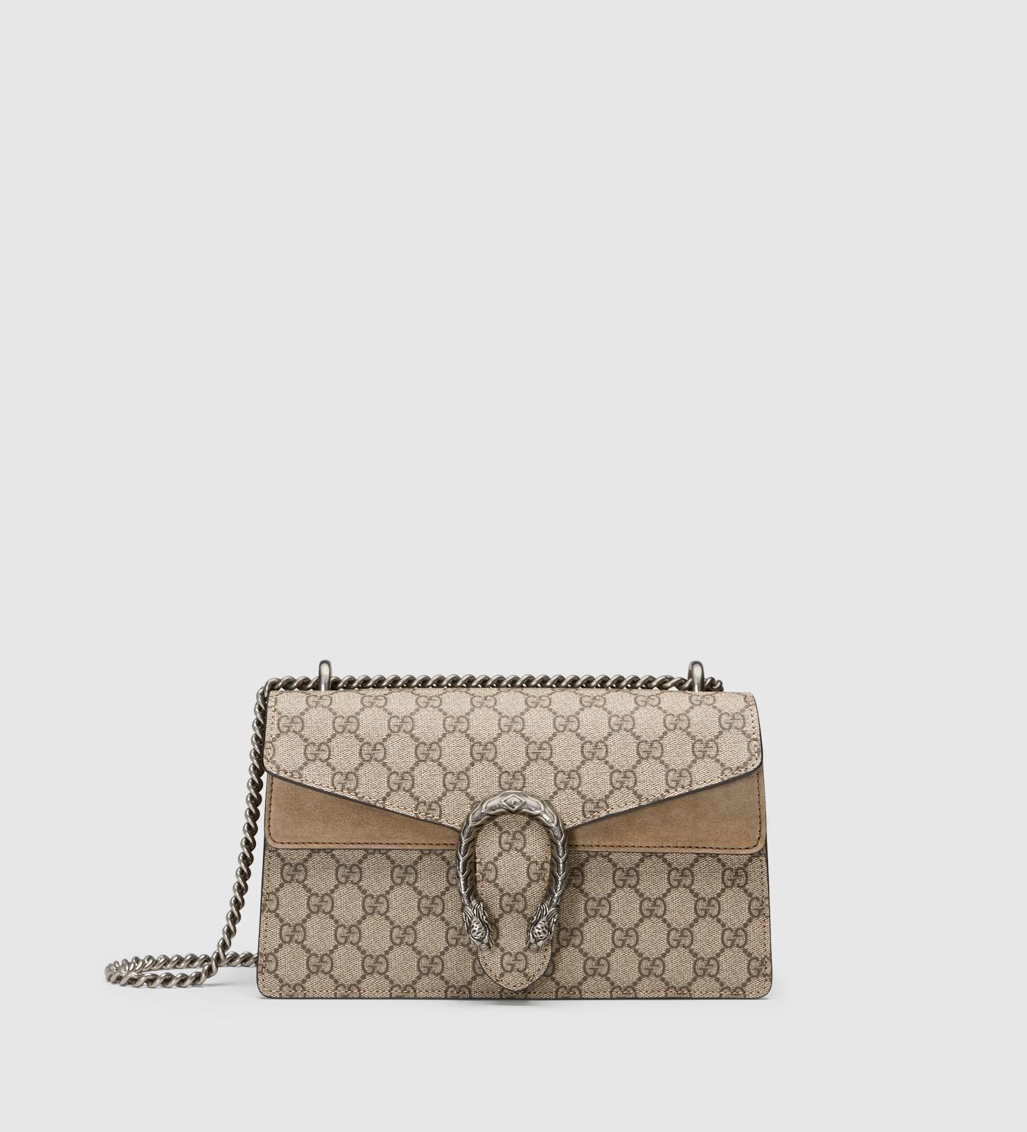 d9e44a1a63e9 Gucci Dionysus Gg Supreme Shoulder Bag   Stanford Center for ...