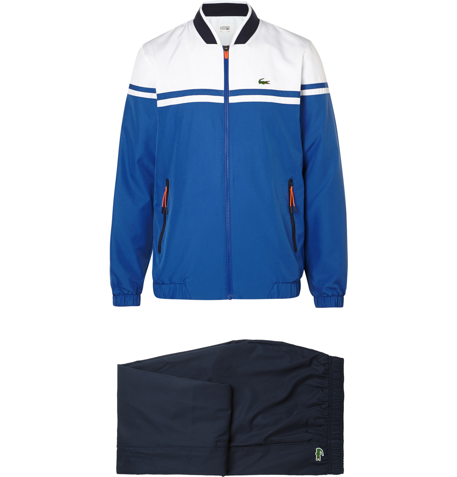 908cce4e4 Lacoste Sport Colour-block Shell Tracksuit in Blue for Men - Lyst