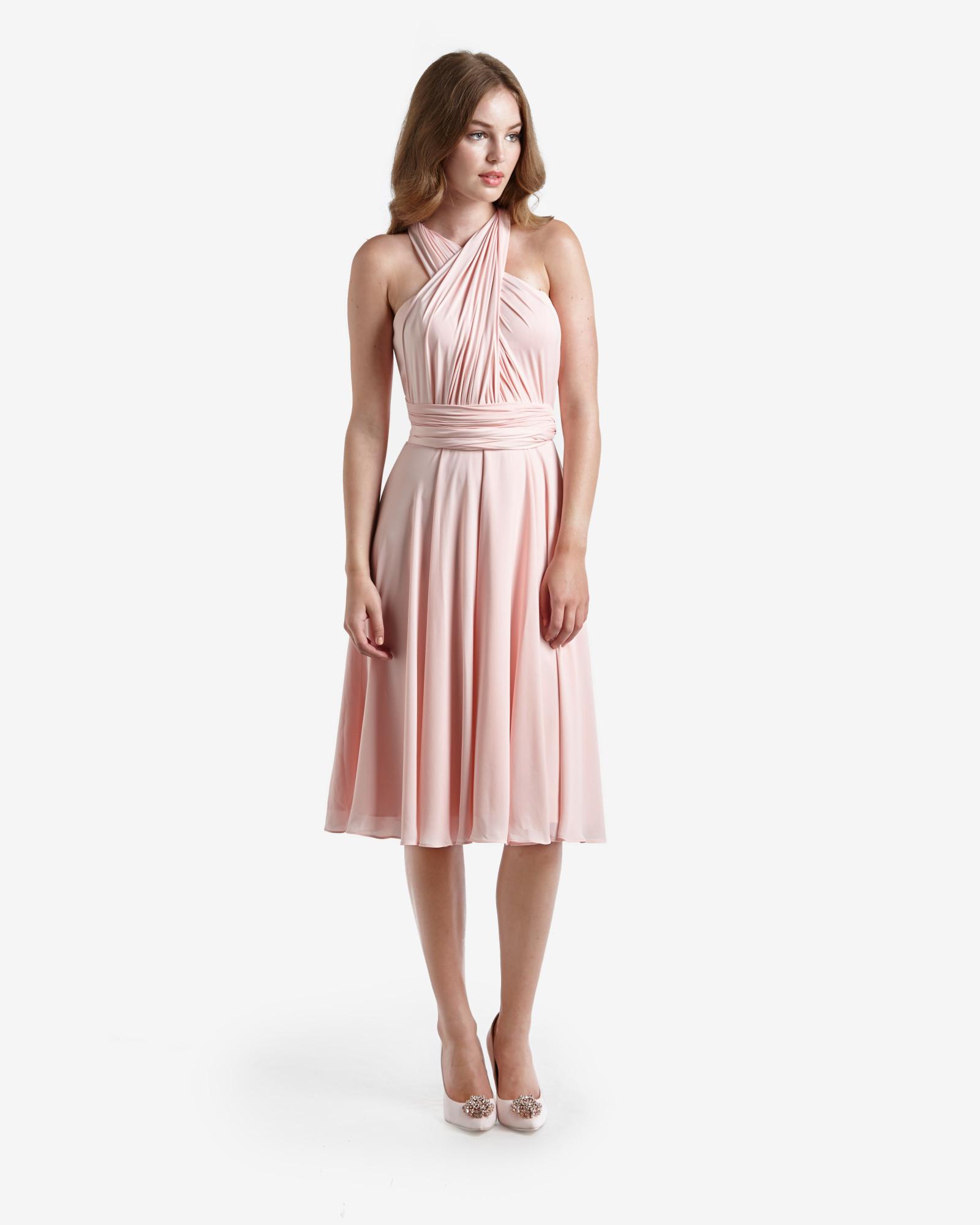 Ted baker Multiway Wrap Ballerina Dress in Pink | Lyst